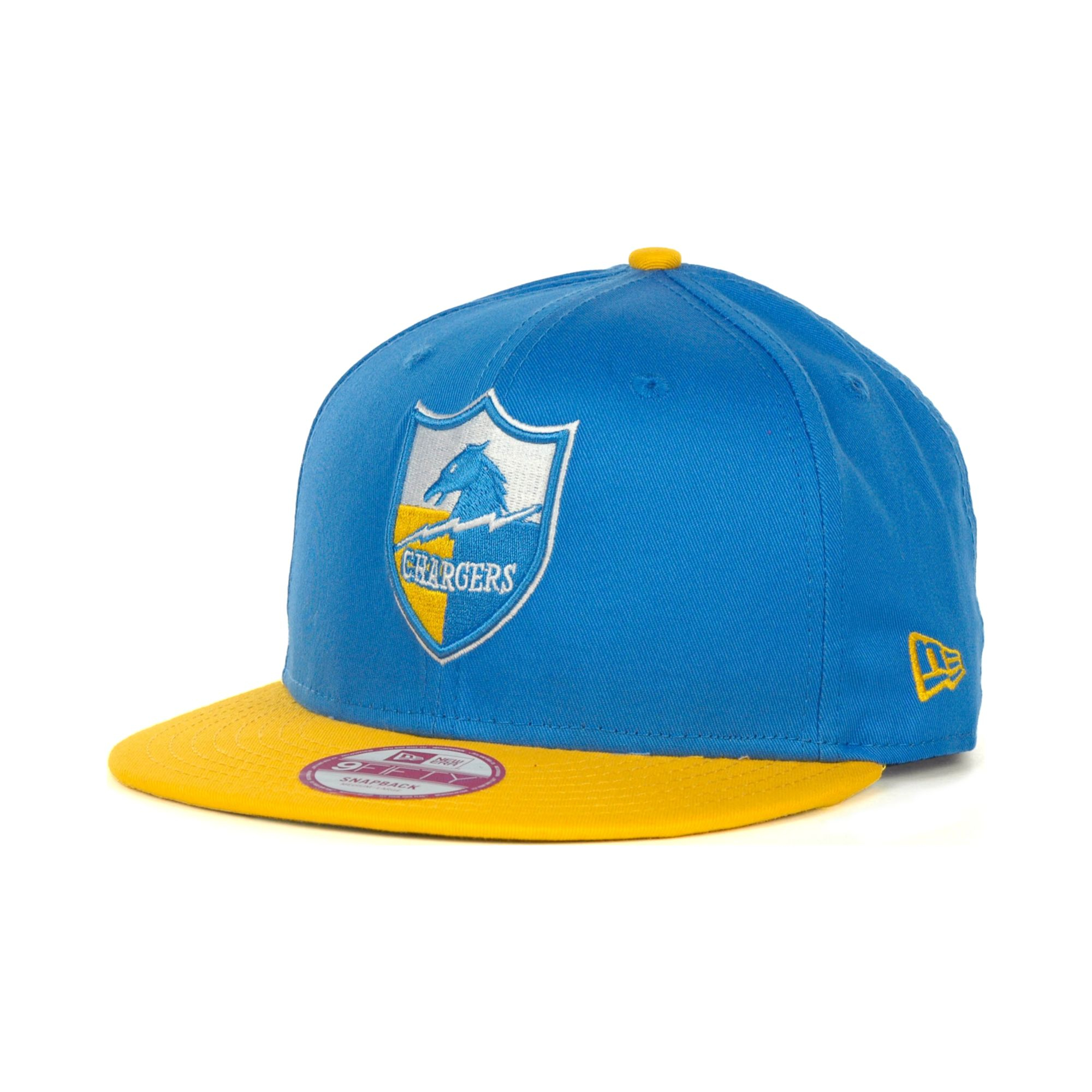 timeless design 6c4e0 7bdb7 ... discount code for lyst ktz san diego chargers 9fifty snapback hat in  blue for men ce889