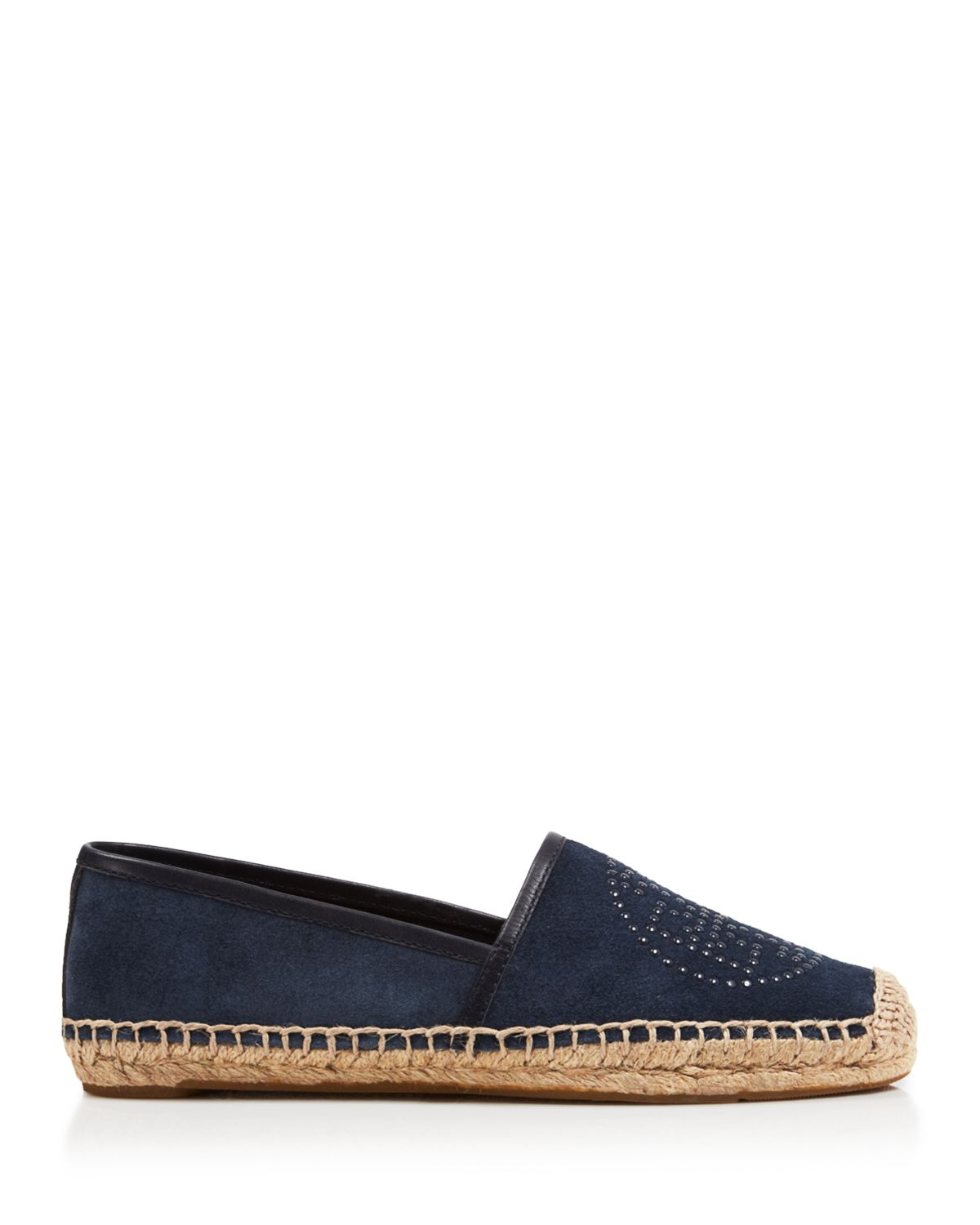 0053370a14a9 Lyst - Tory Burch Espadrille Flats - Kirby Suede in Blue