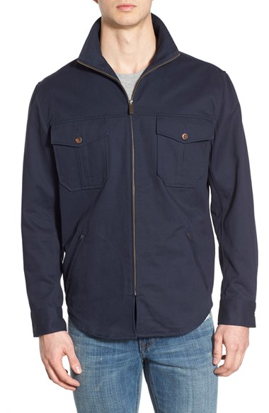 Pendleton Twill Shirt Jacket in Blue for Men | Lyst