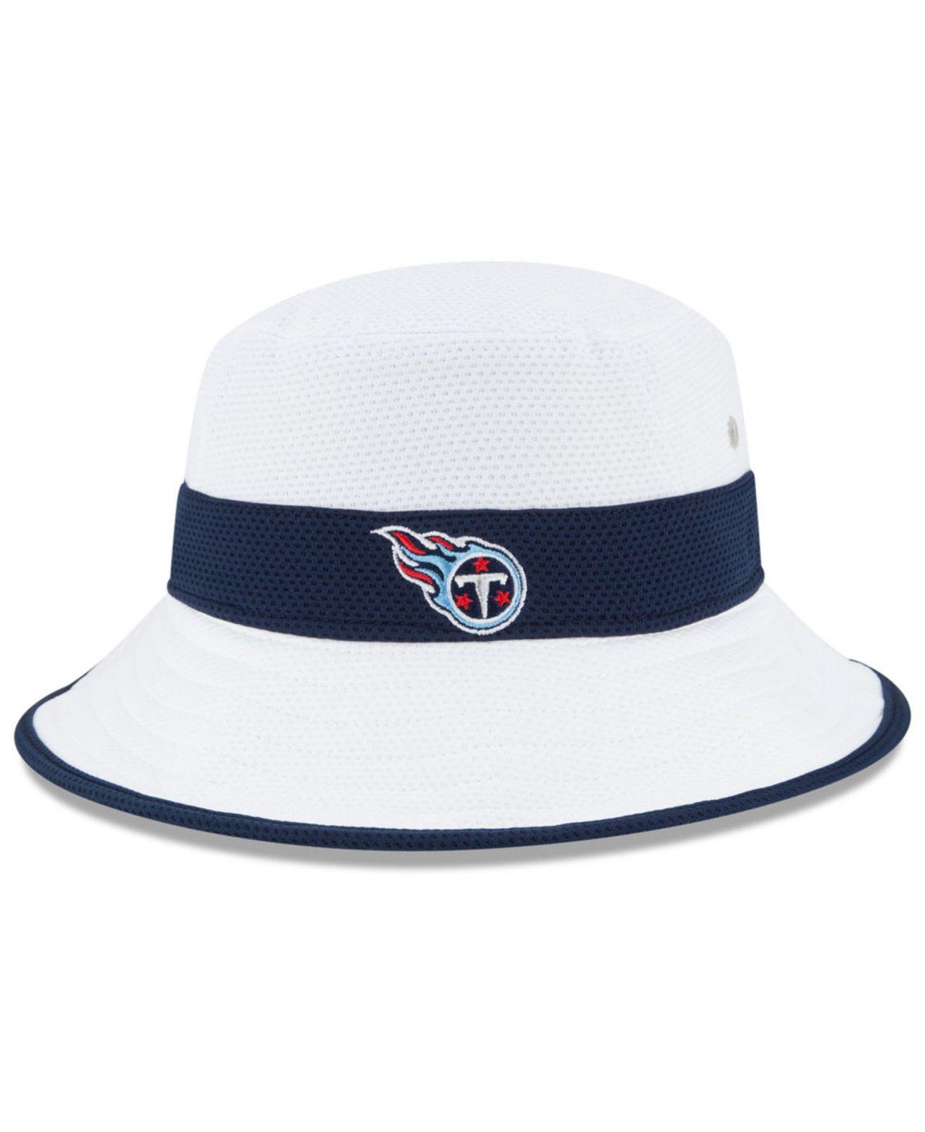 b504c84b309 Lyst - KTZ Tennessee Titans Training Camp Reverse Bucket Hat in ...