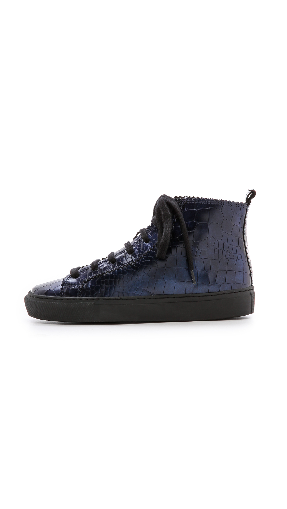 free shipping latest collections sale clearance Rachel Comey Embossed High-Top Sneakers nicekicks cheap price ptBUhDORo