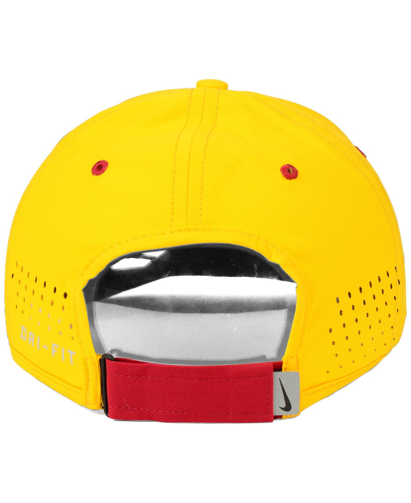 58f49a528aafb ... denmark lyst nike usc trojans dri fit coaches cap in yellow for men  5cb6e 8eb74