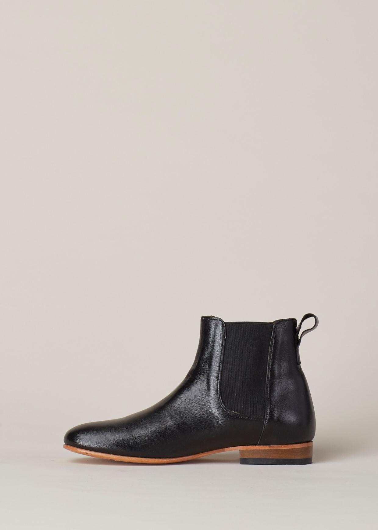 7694de71e55 Lyst - Dieppa Restrepo Black Troy Ankle Boot in Black
