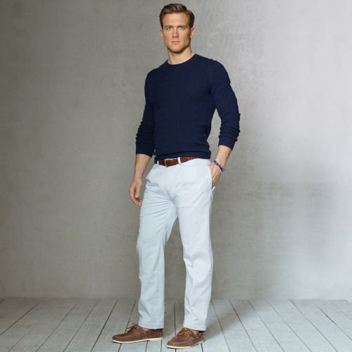 Lyst Polo Ralph Lauren Classic Fit Pleated Chino Pant In