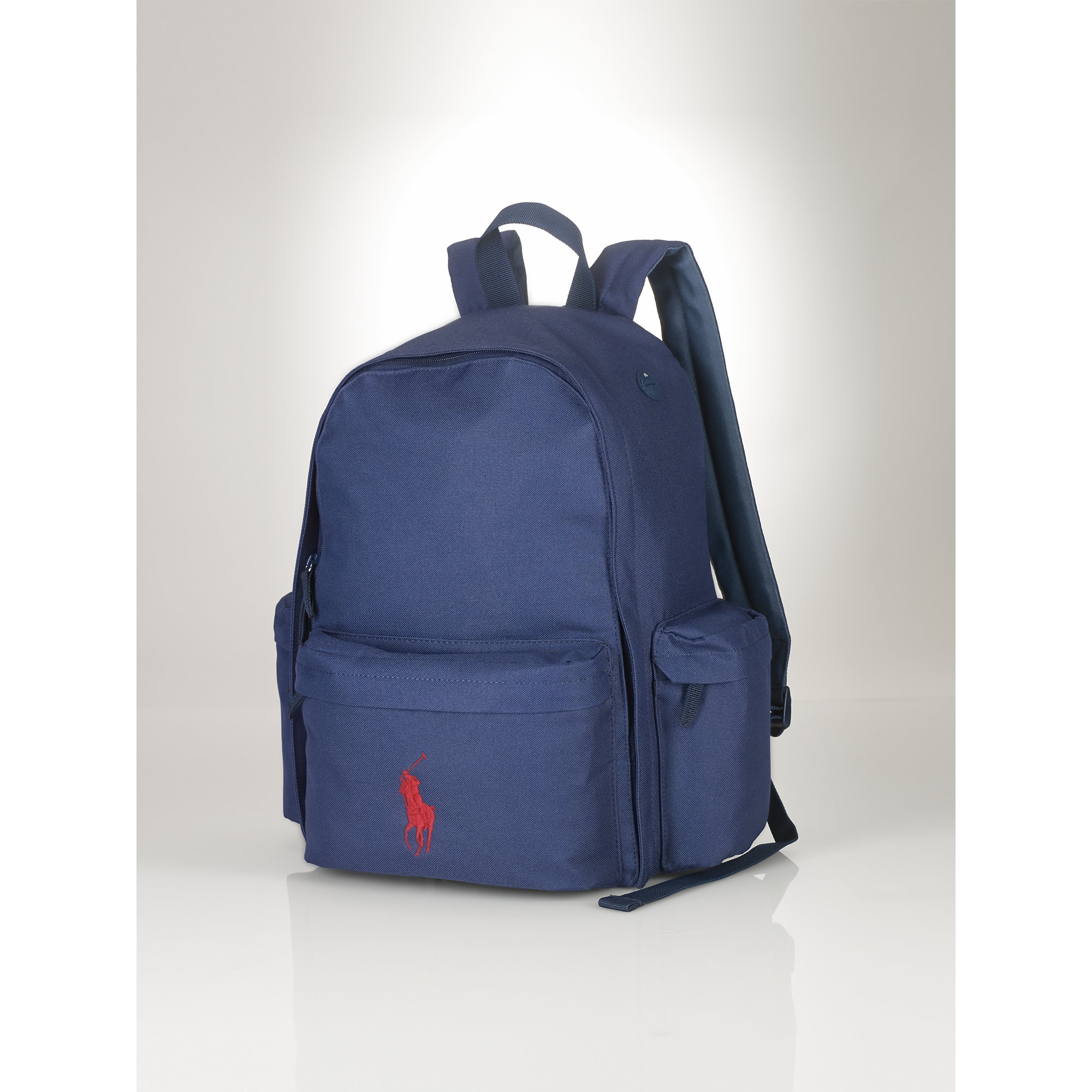 Ralph lauren Large Big Pony Backpack in Blue | Lyst