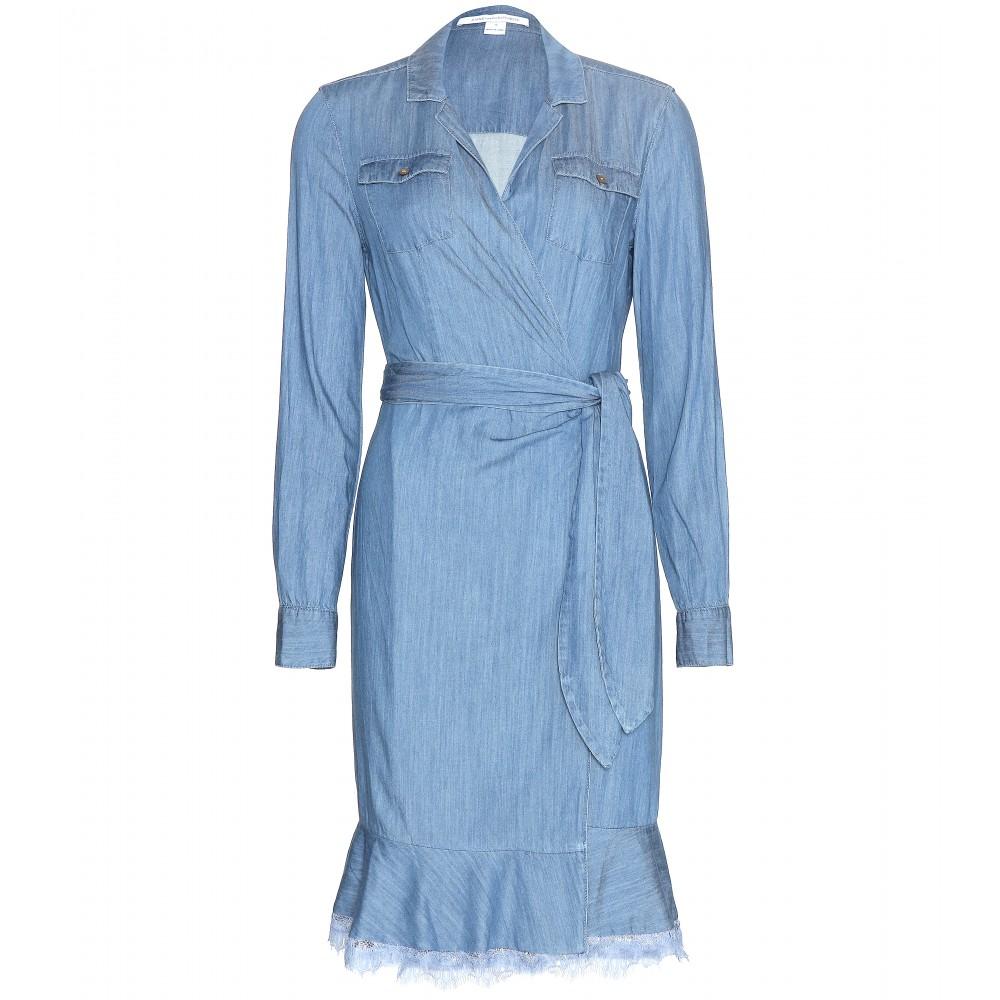 Dvf denim dress