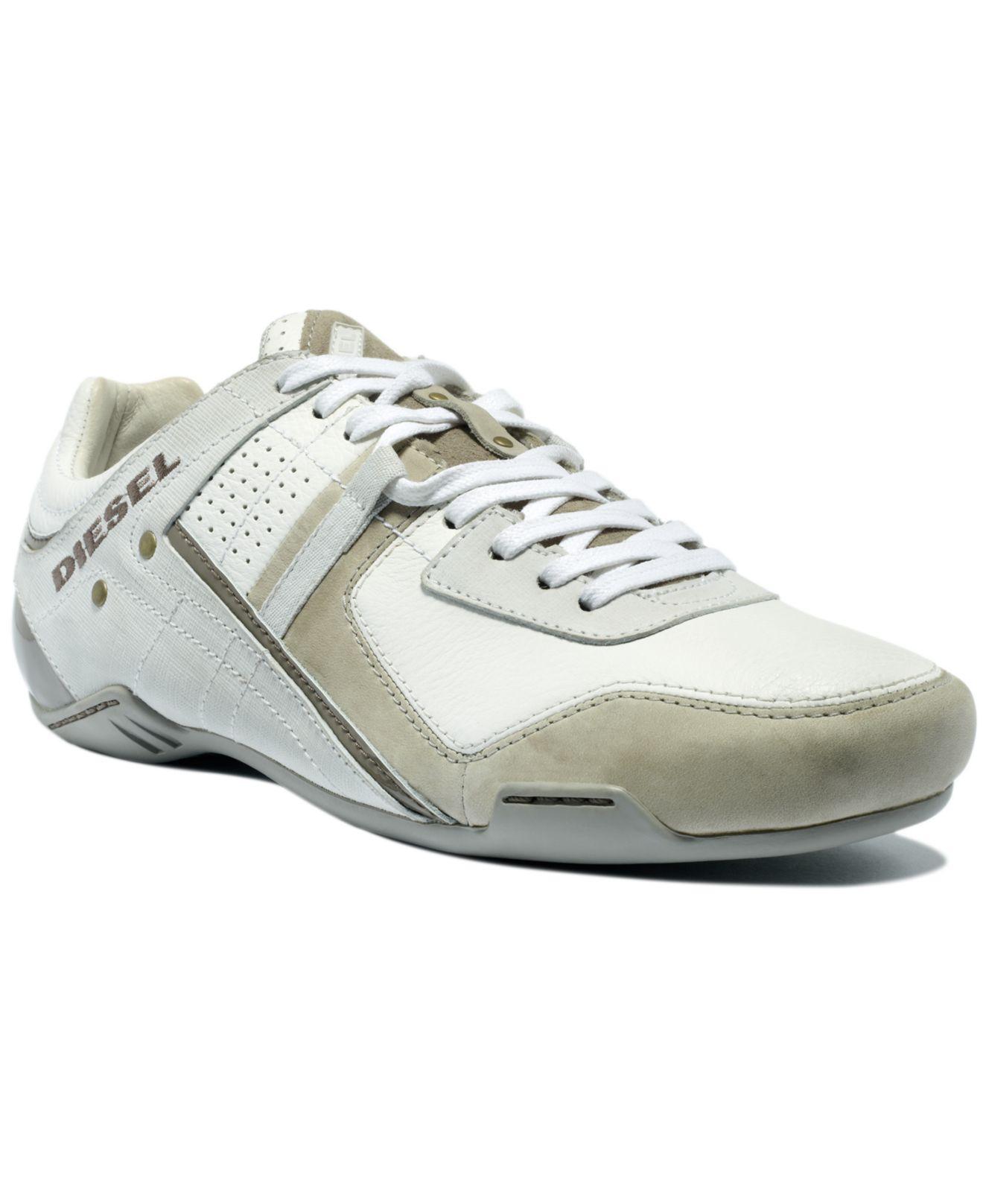 Diesel Korbin Sneakers In White For Men Lyst