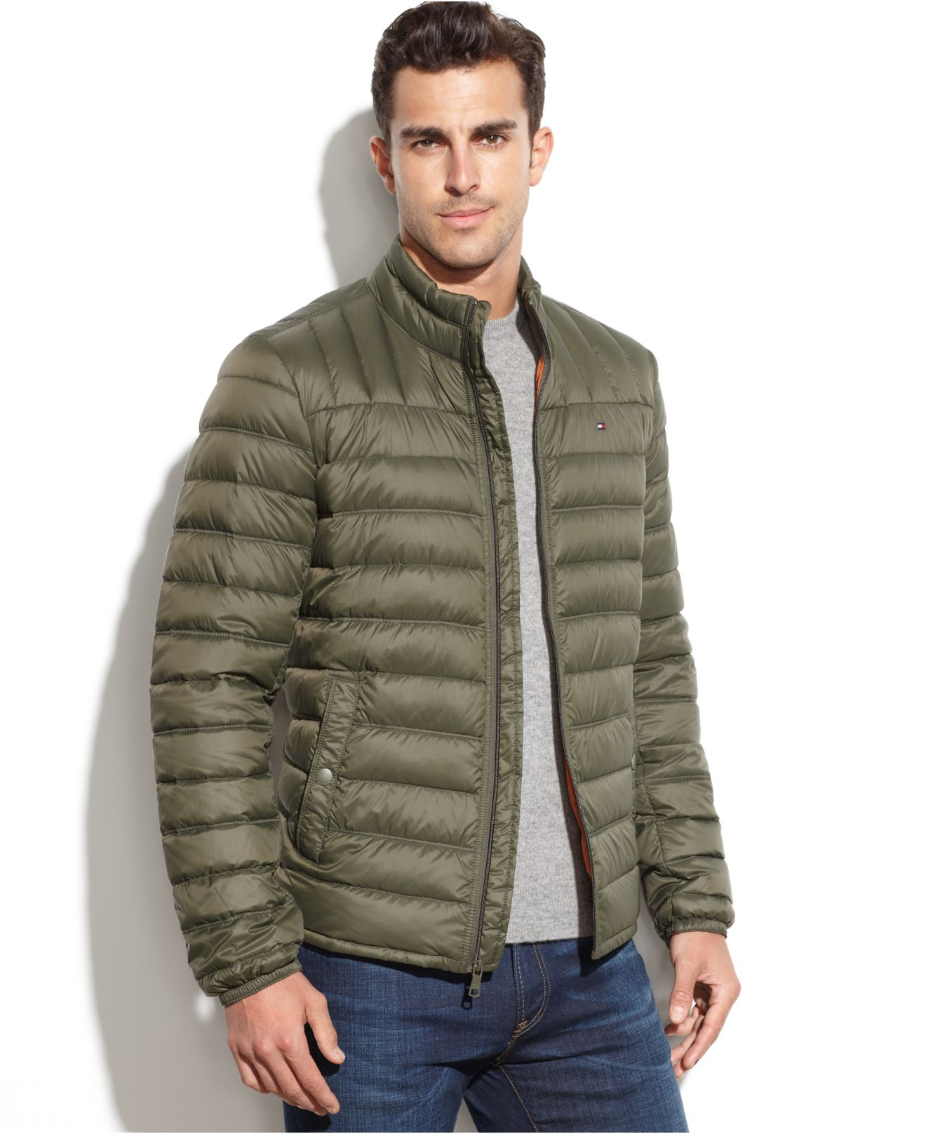 tommy hilfiger big and tall down quilted packable down. Black Bedroom Furniture Sets. Home Design Ideas