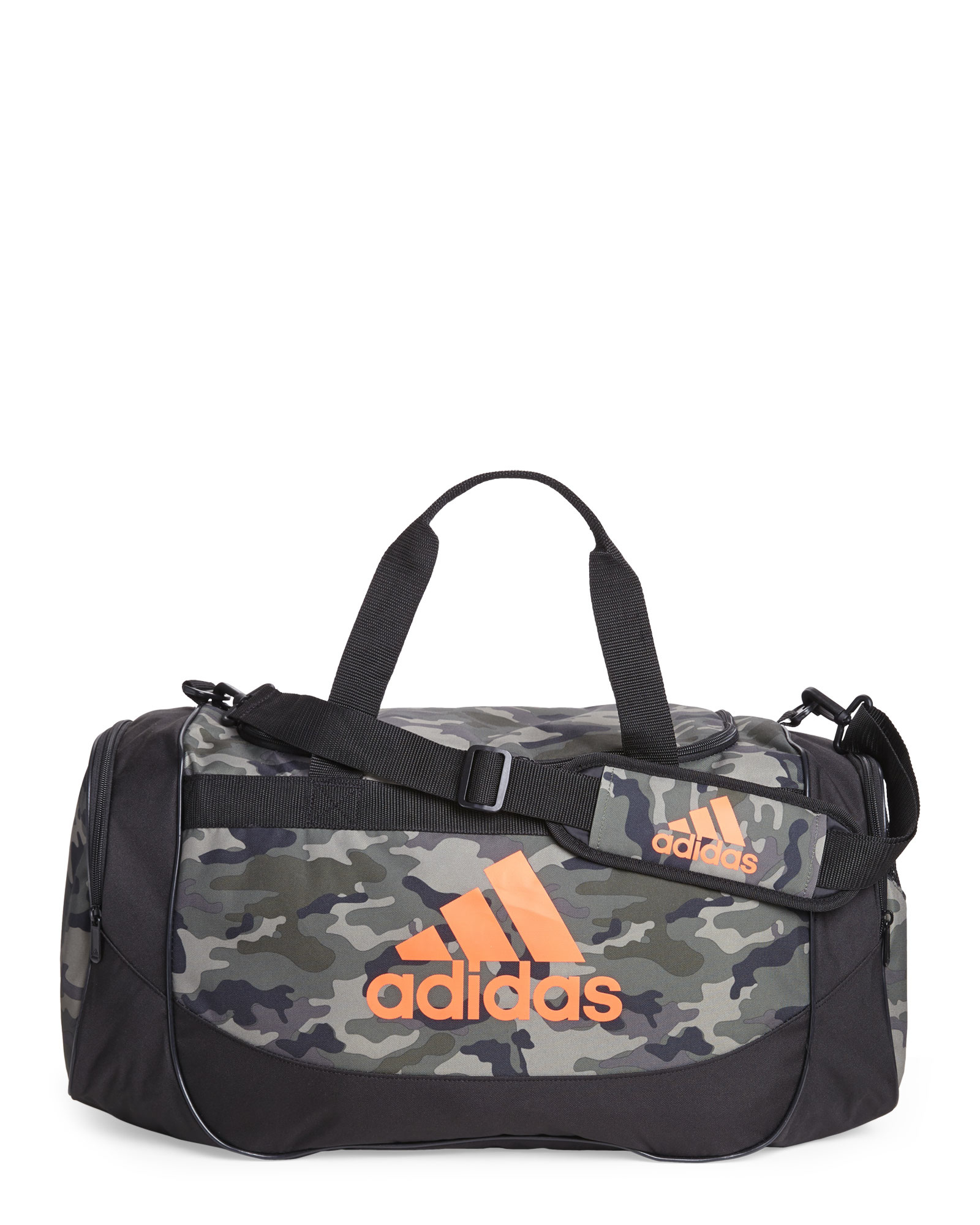 03397d416c0a Lyst - adidas Camouflage Defense Medium Duffel Bag in Black for Men