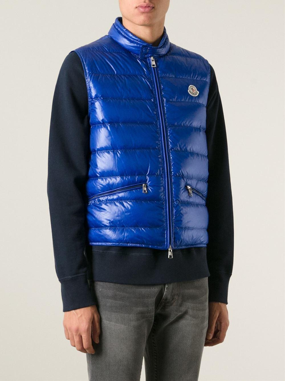 76ac7a551 moncler gui gilet blue | Sheffield Senators