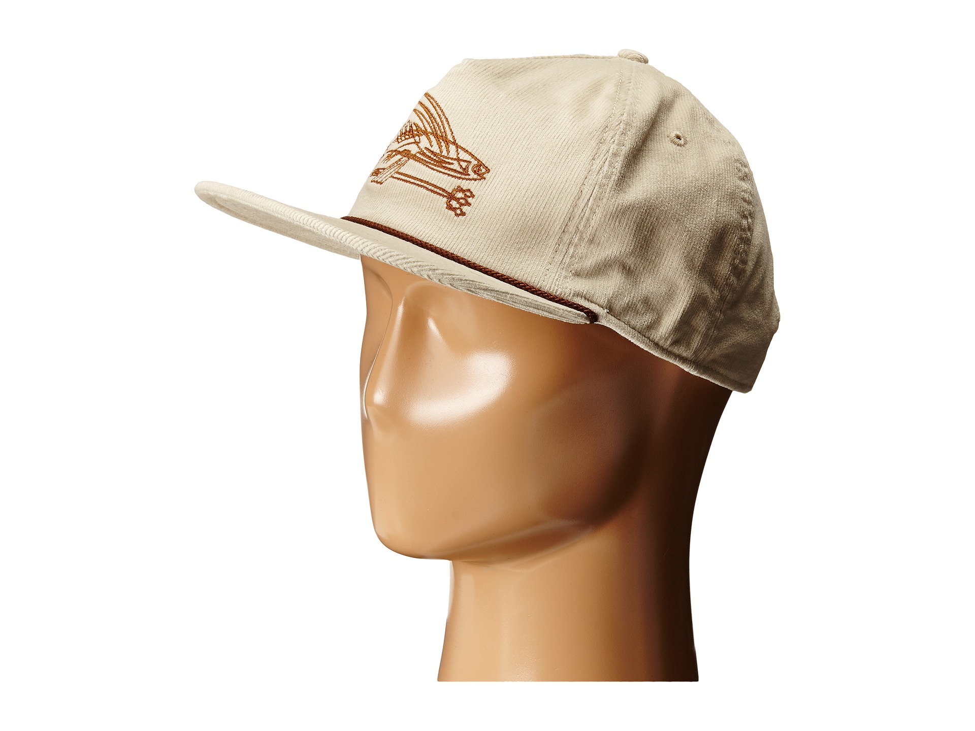 de2b8ac2 Patagonia Pinstripe Flying Fish Corduroy Hat in Natural - Lyst