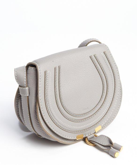 chloe wallets online - Chlo�� Cashmere Grey Lambskin Leather 'marcie' Small Crossbody Bag ...