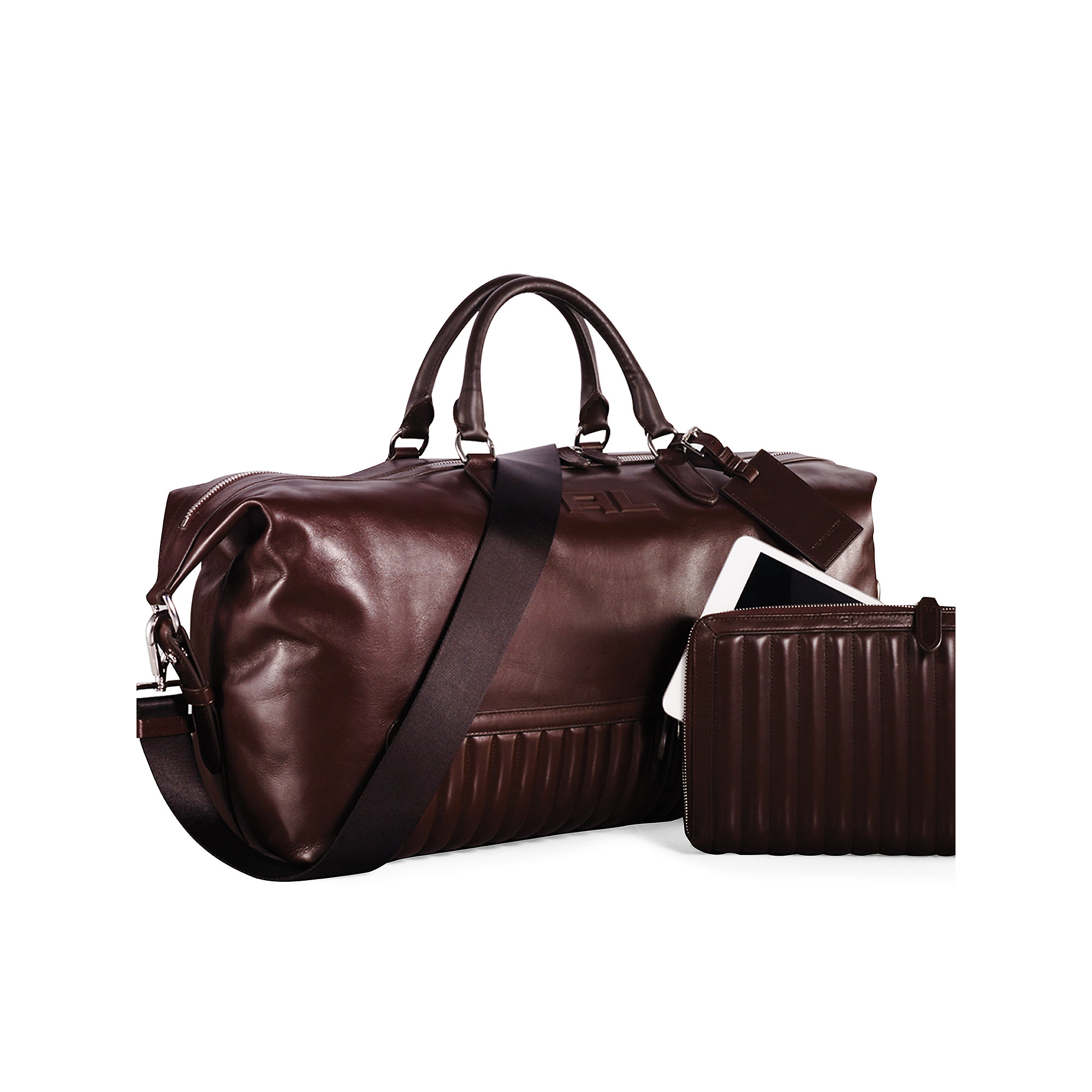 5620365882c7 ... coupon code for lyst ralph lauren quilted leather duffel bag in brown  for men 2a438 1a286 get polo ...