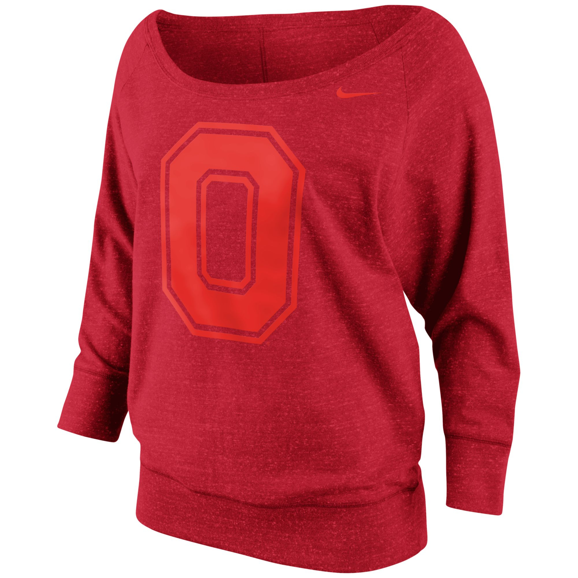 Nike Womens Ohio State Buckeyes Lazy Day Crew Sweatshirt in Red | Lyst