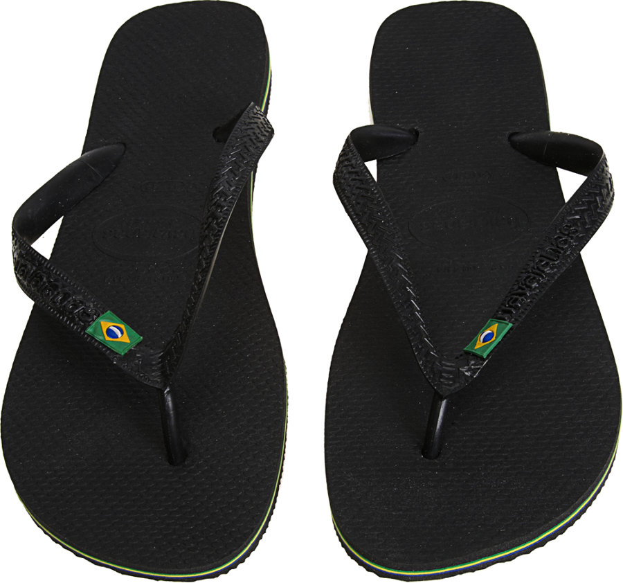 d69aed646798ae Lyst - Havaianas Brazil Flip-flops in Black for Men