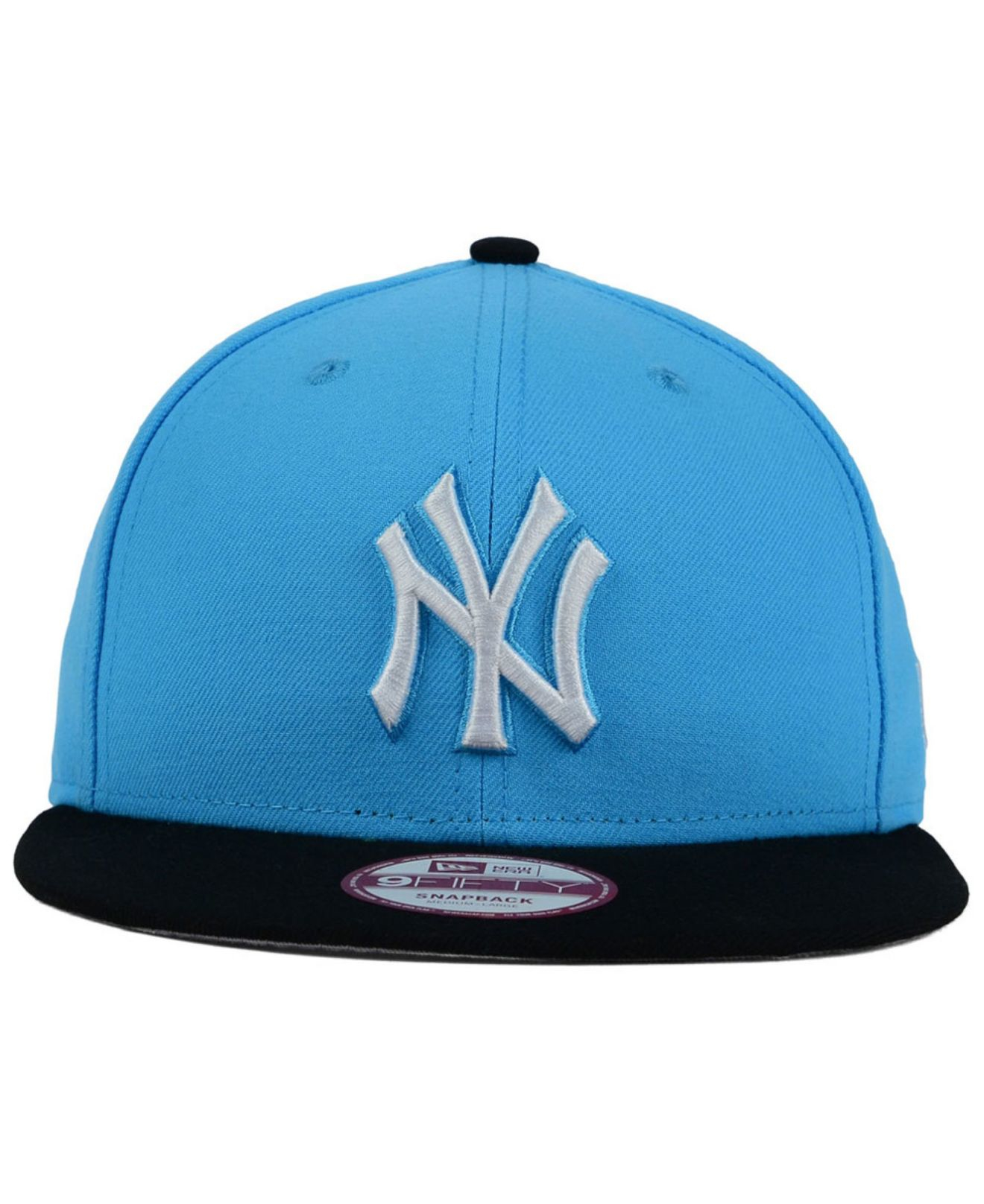 best service 4dbc2 36c31 KTZ New York Yankees The Queens 9fifty Snapback Cap in Blue for Men ...
