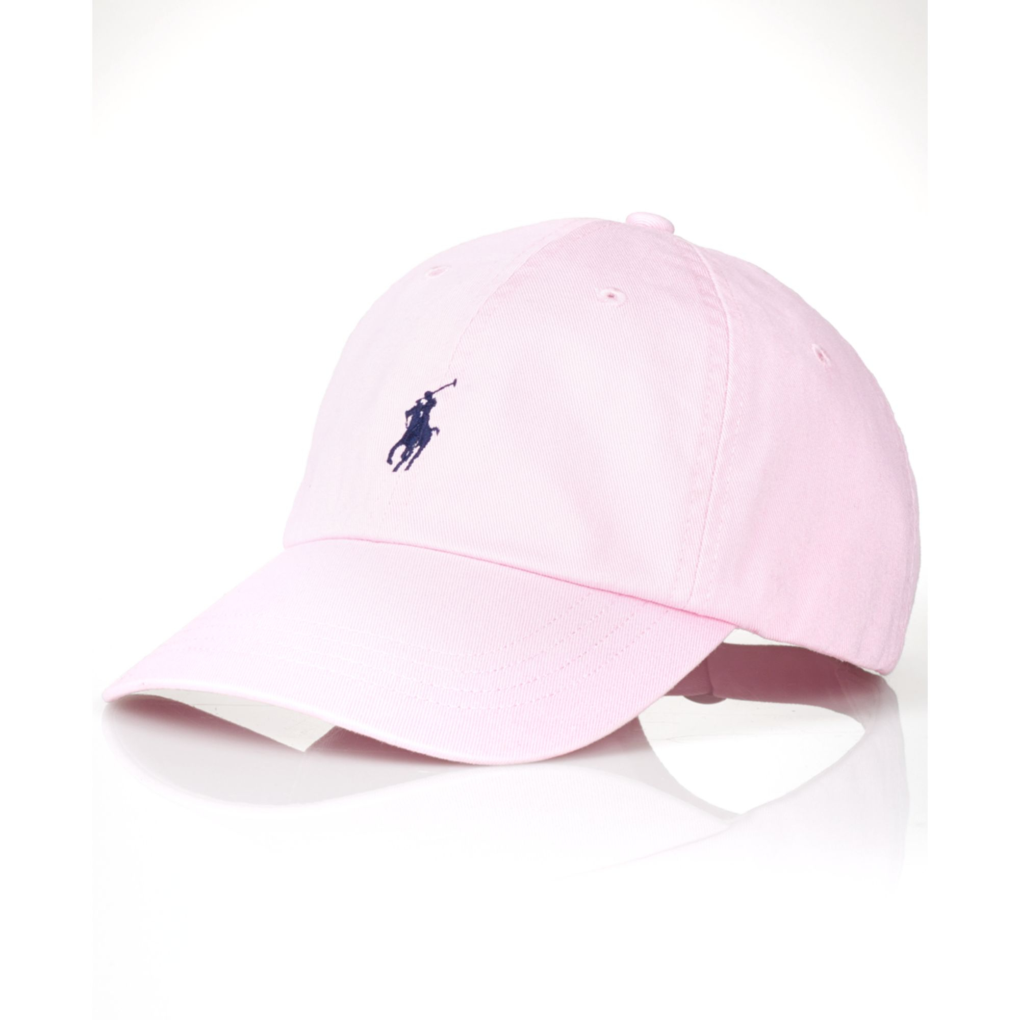 3445b0f5b6b5 Lyst - Ralph Lauren Polo Classic Chino Sports Cap in Pink for Men