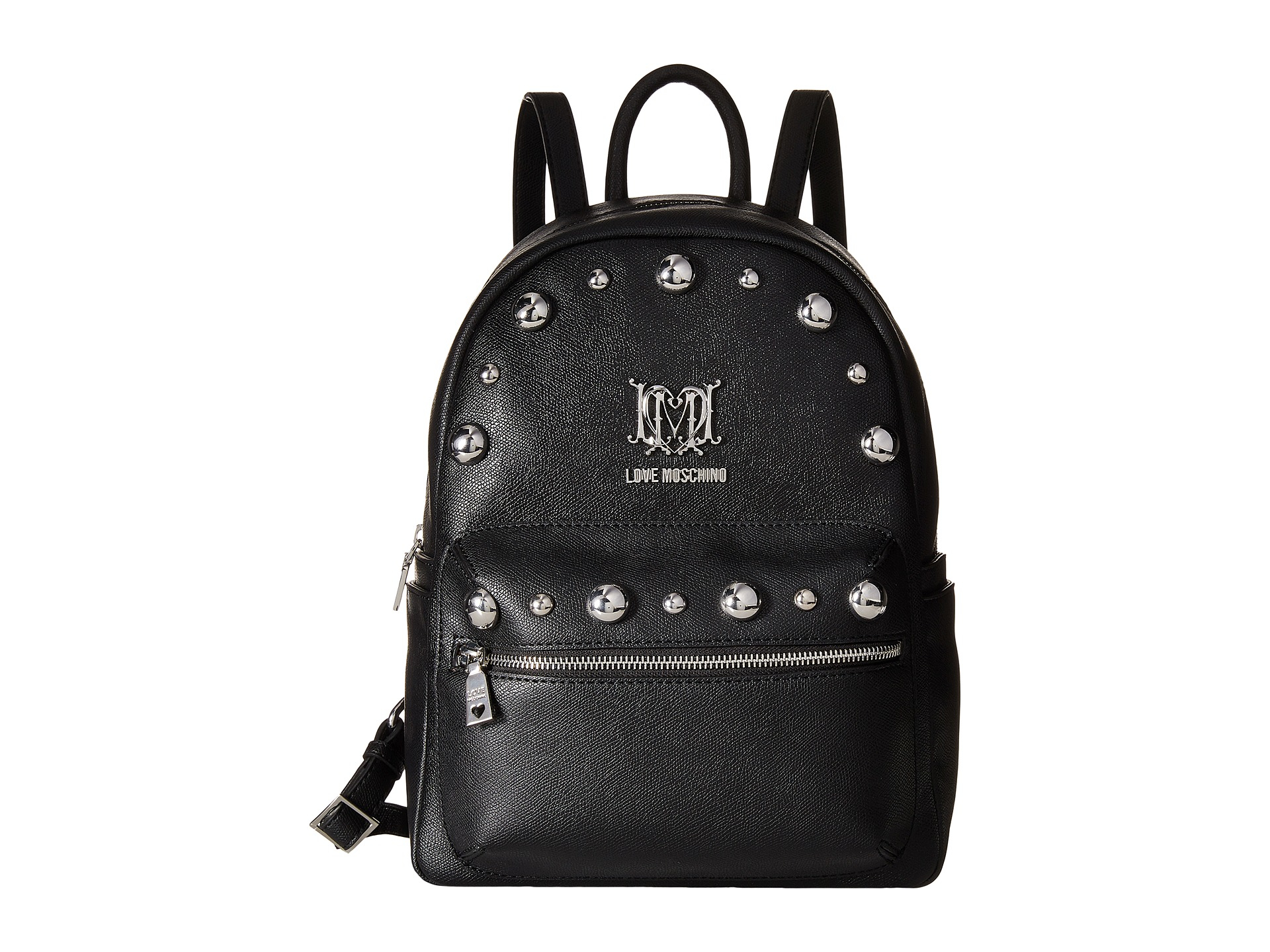 d2a85c226d Love Moschino Letter Plate Mini Backpack in Black - Lyst