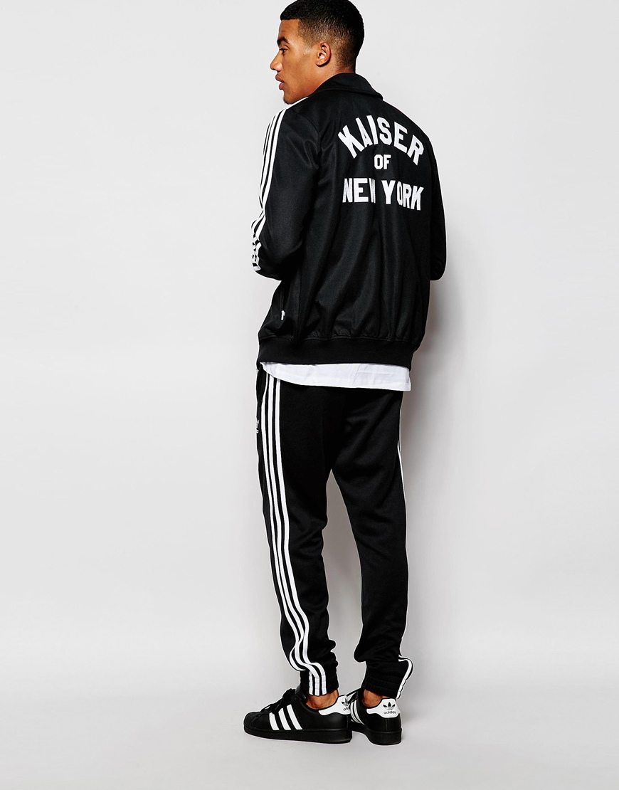 Lyst Adidas Originals Beckenbauer Track Jacket With Back Print Ab7480