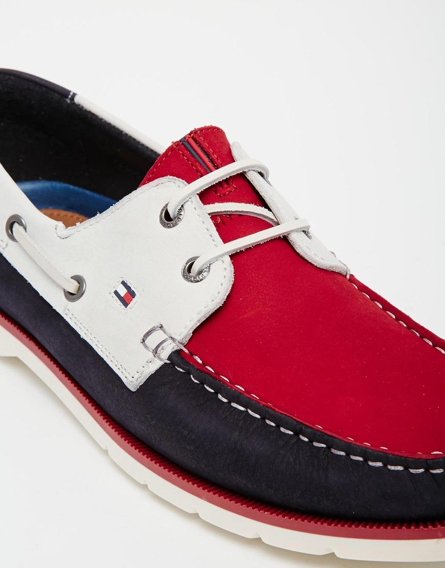tommy hilfiger red boat shoes – Maskbook