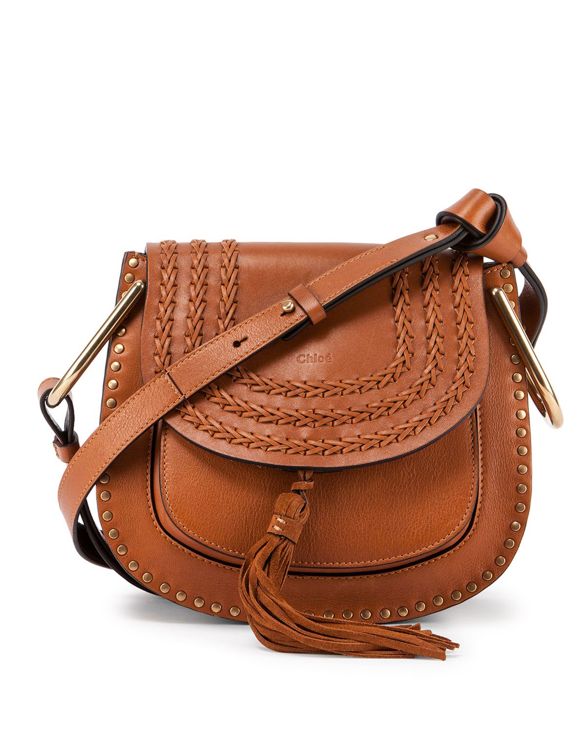 Chloé Chloé Nano 'hayley' Crossbody Bag in Brown | Lyst