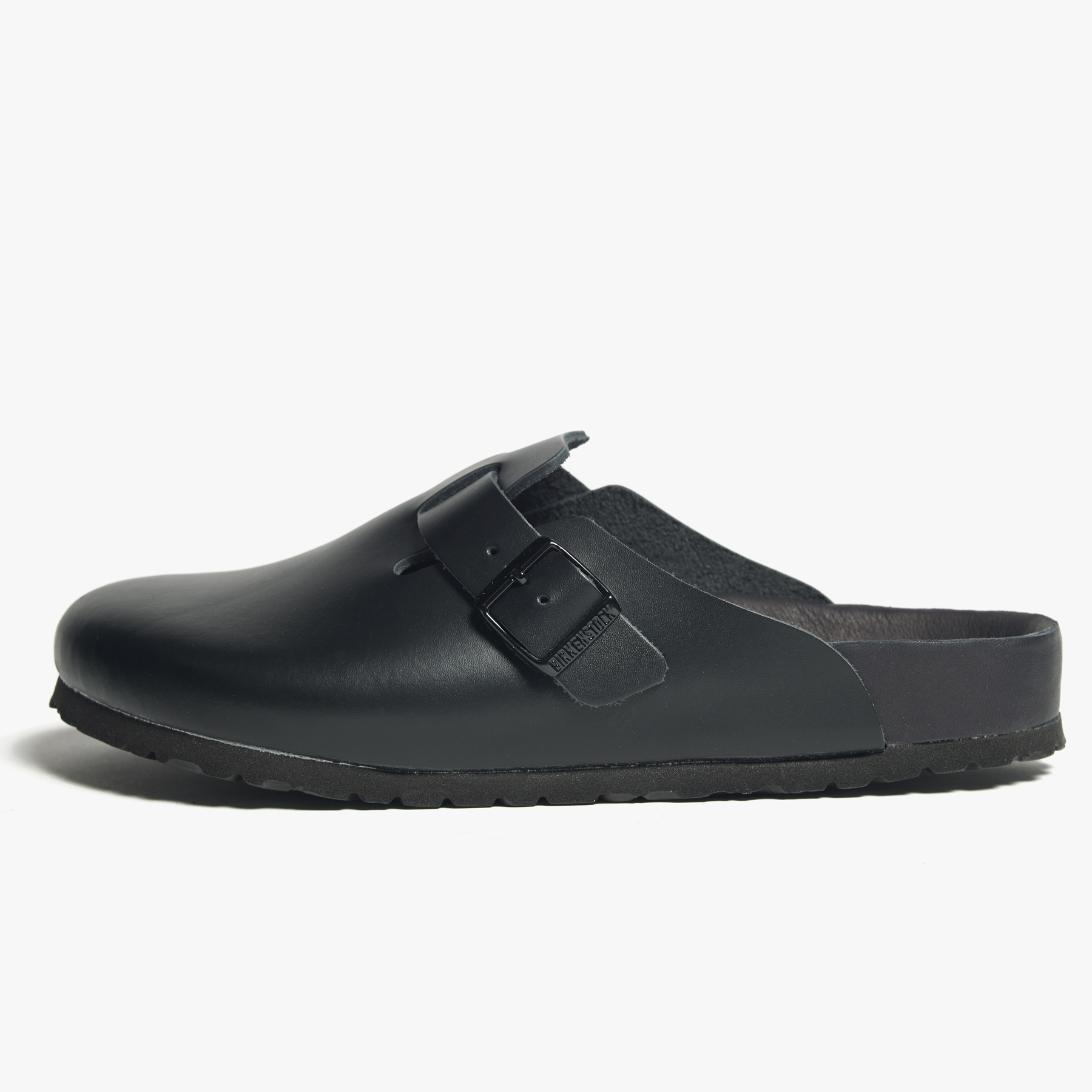 03101c5f9f Lyst - James Perse Birkenstock Boston Leather Clog - Mens in Black ...