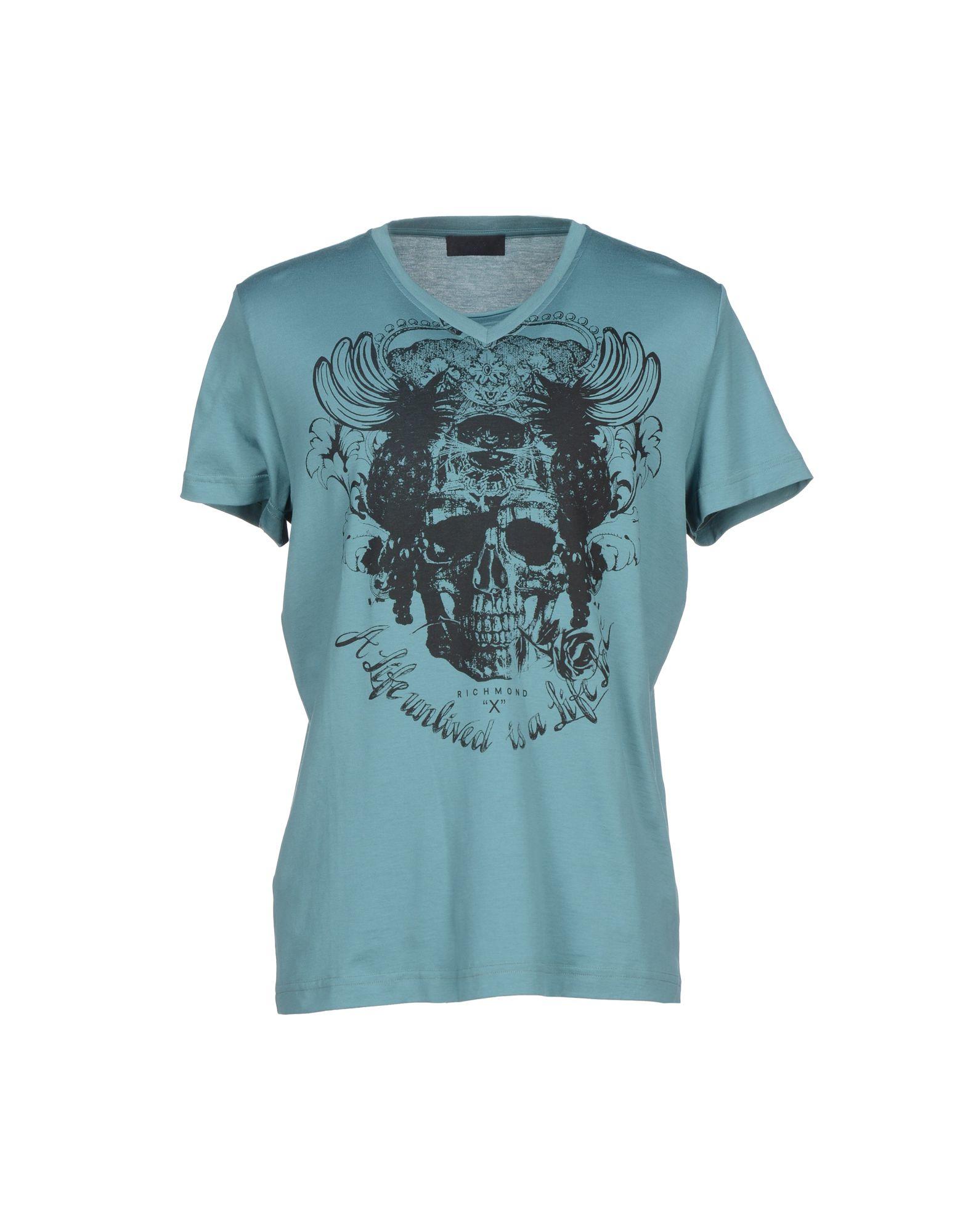 Lyst richmond x t shirt in blue for men for T shirt printing richmond va
