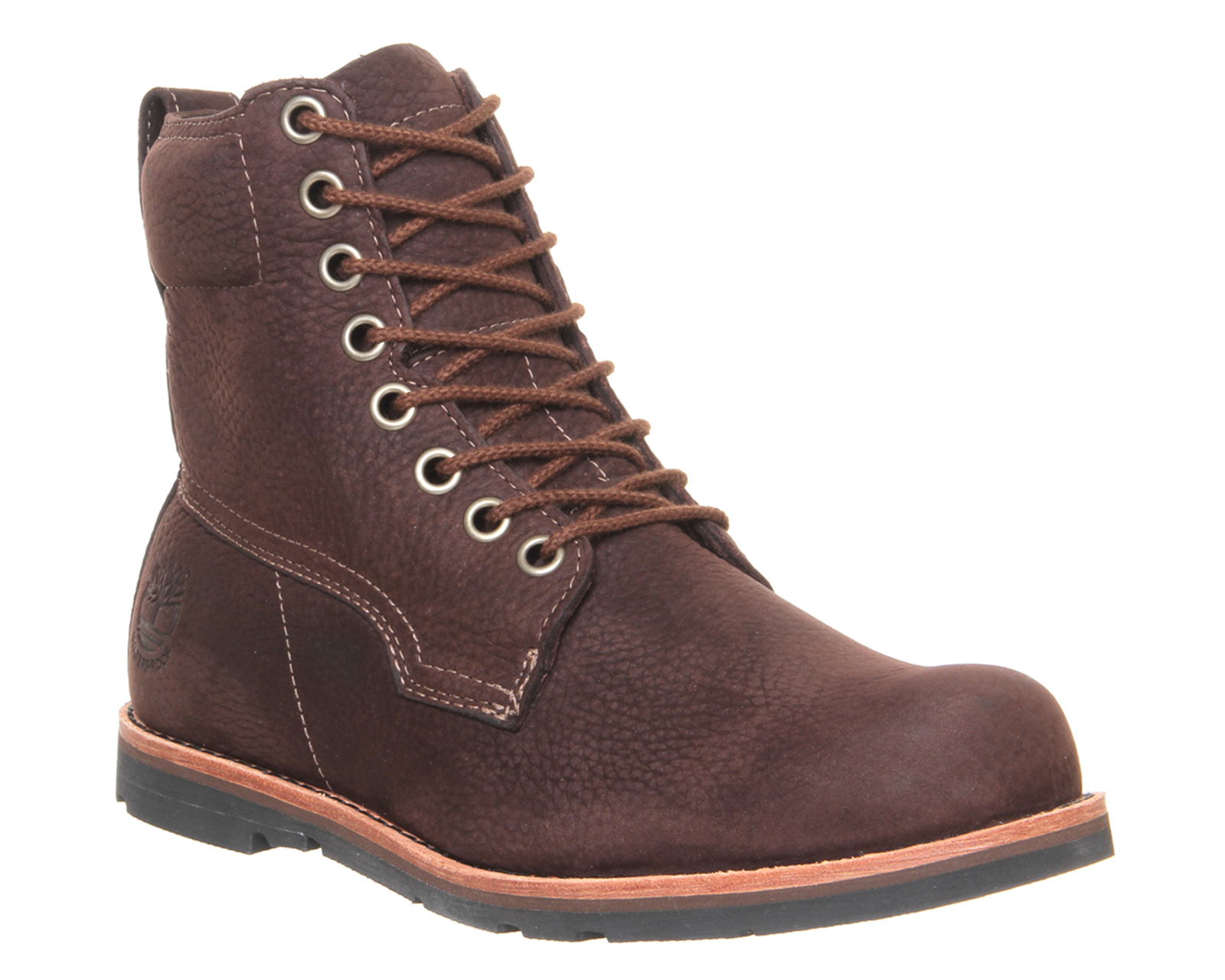 timberland rugged lt 6 inch boots in brown for save