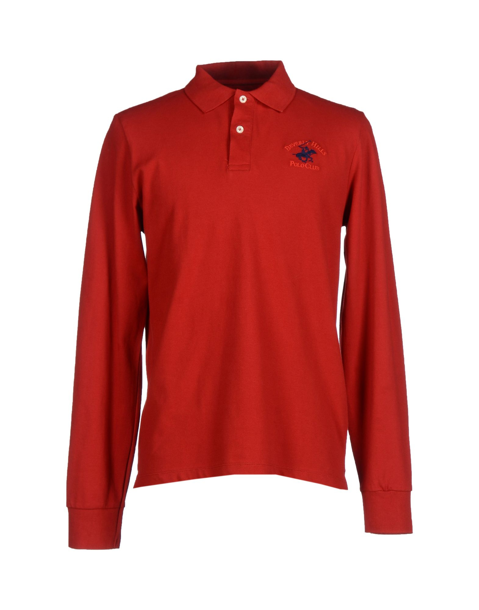 Beverly Hills Polo Club Polo Shirt In Red For Men Lyst