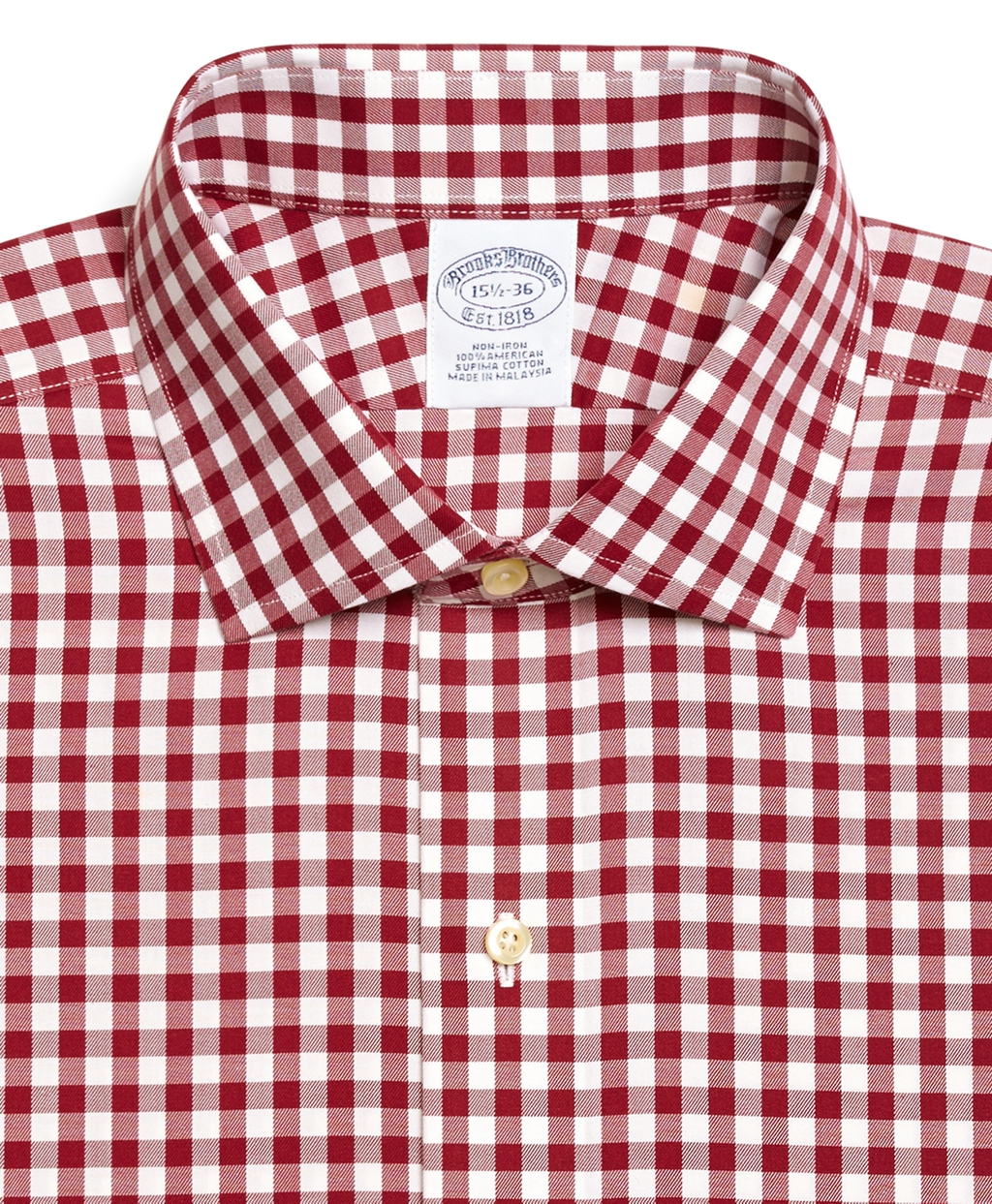 mens red gingham dress shirt best dressed