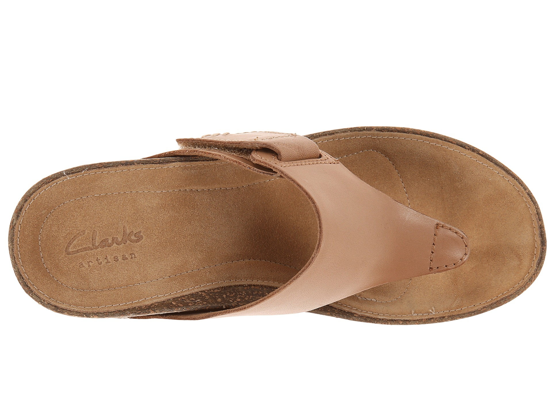 48979e220da Lyst - Clarks Temira West in Natural