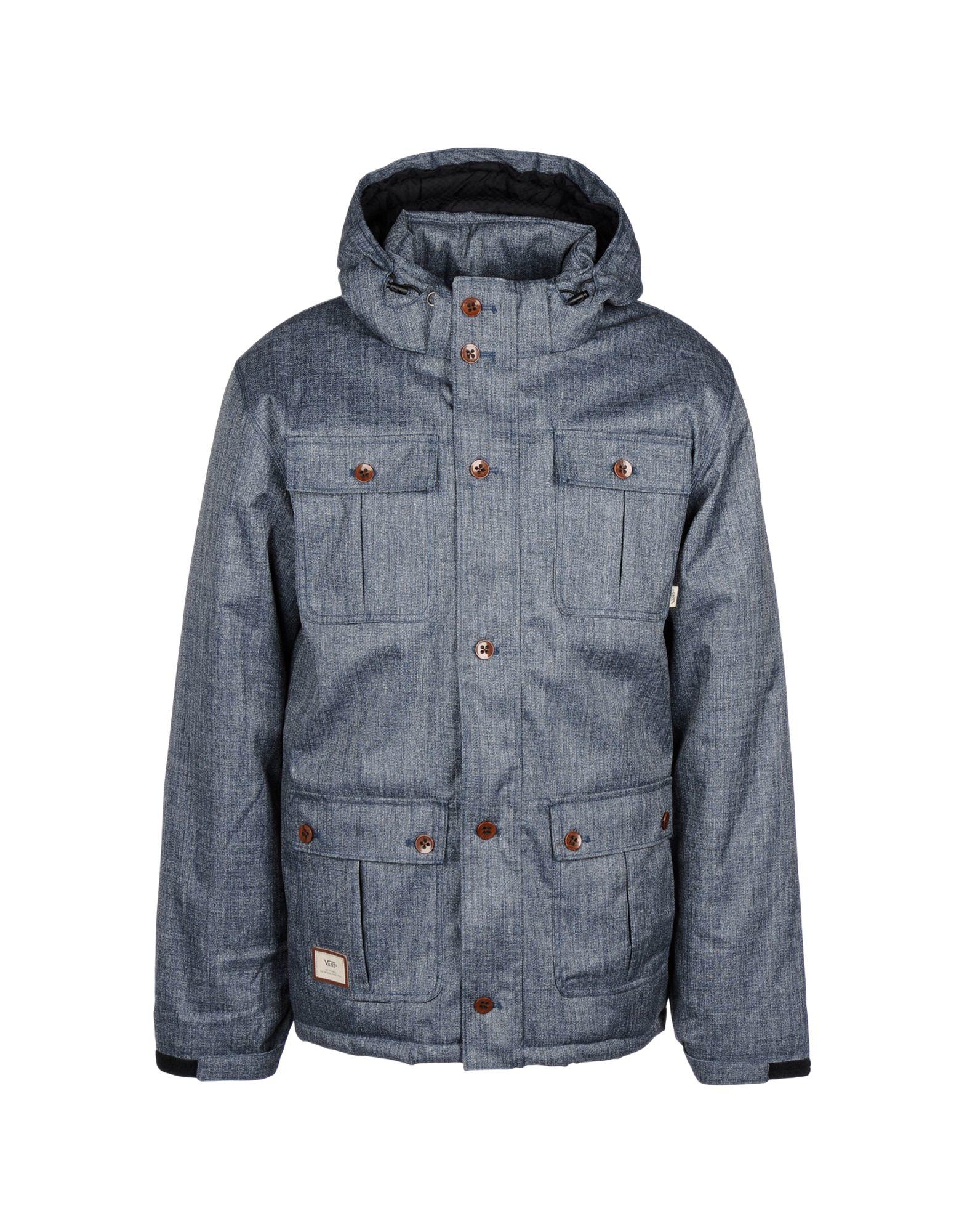 Vans Jacket In Blue For Men | Lyst