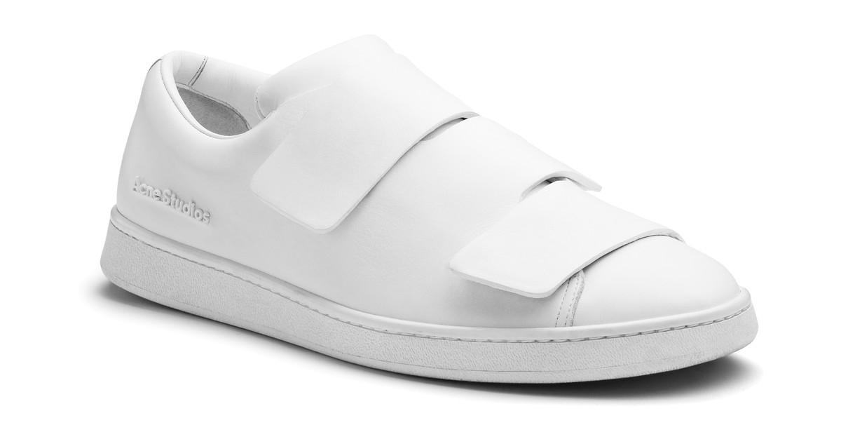 acne studios lo white in white for lyst