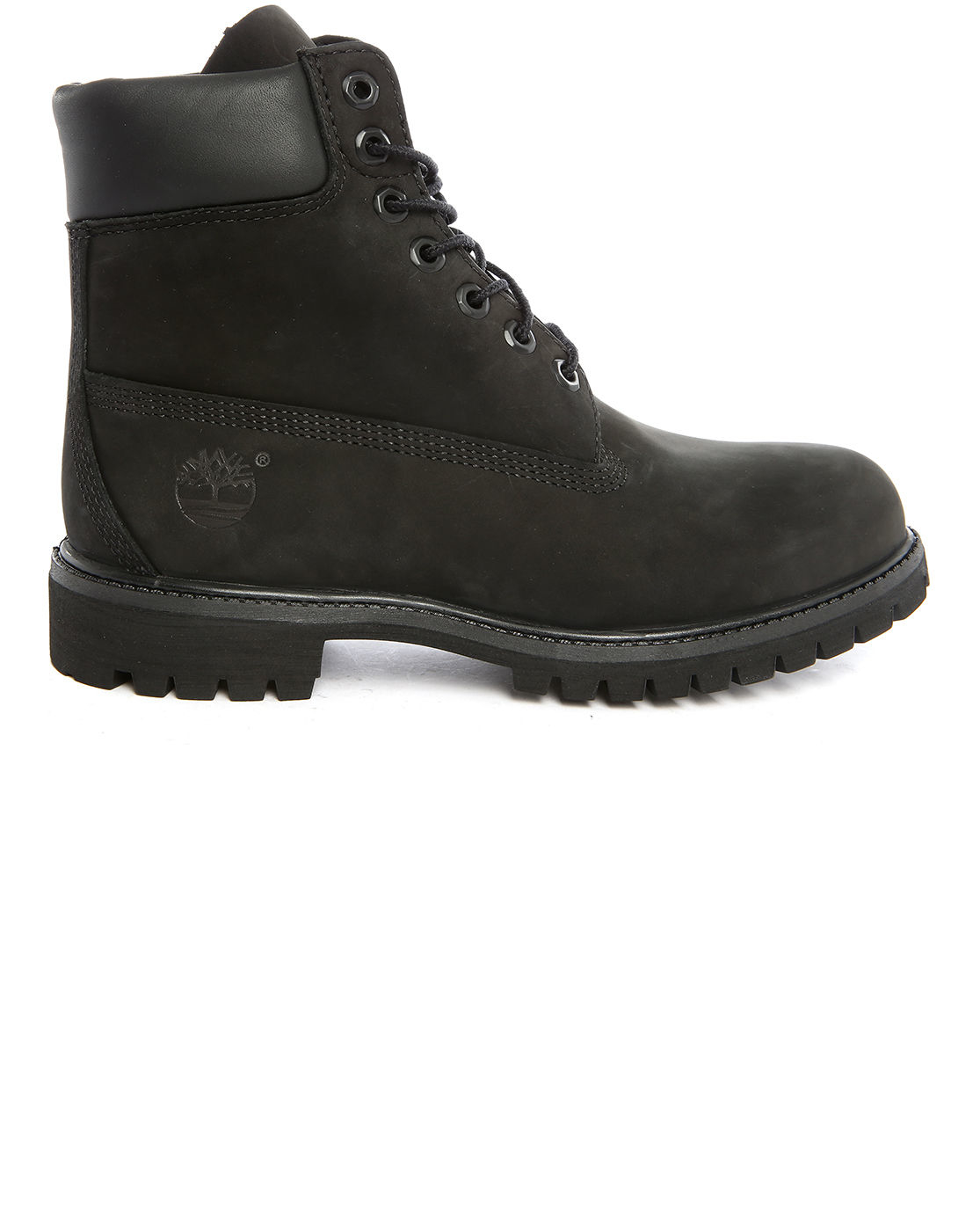 timberland premium black nubuck 6 inch boots for lyst