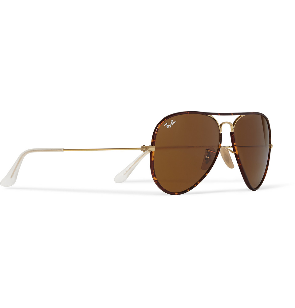 ray ban polarized tortoise shell sunglasses  ray ban tortoise shell aviator style sunglasses
