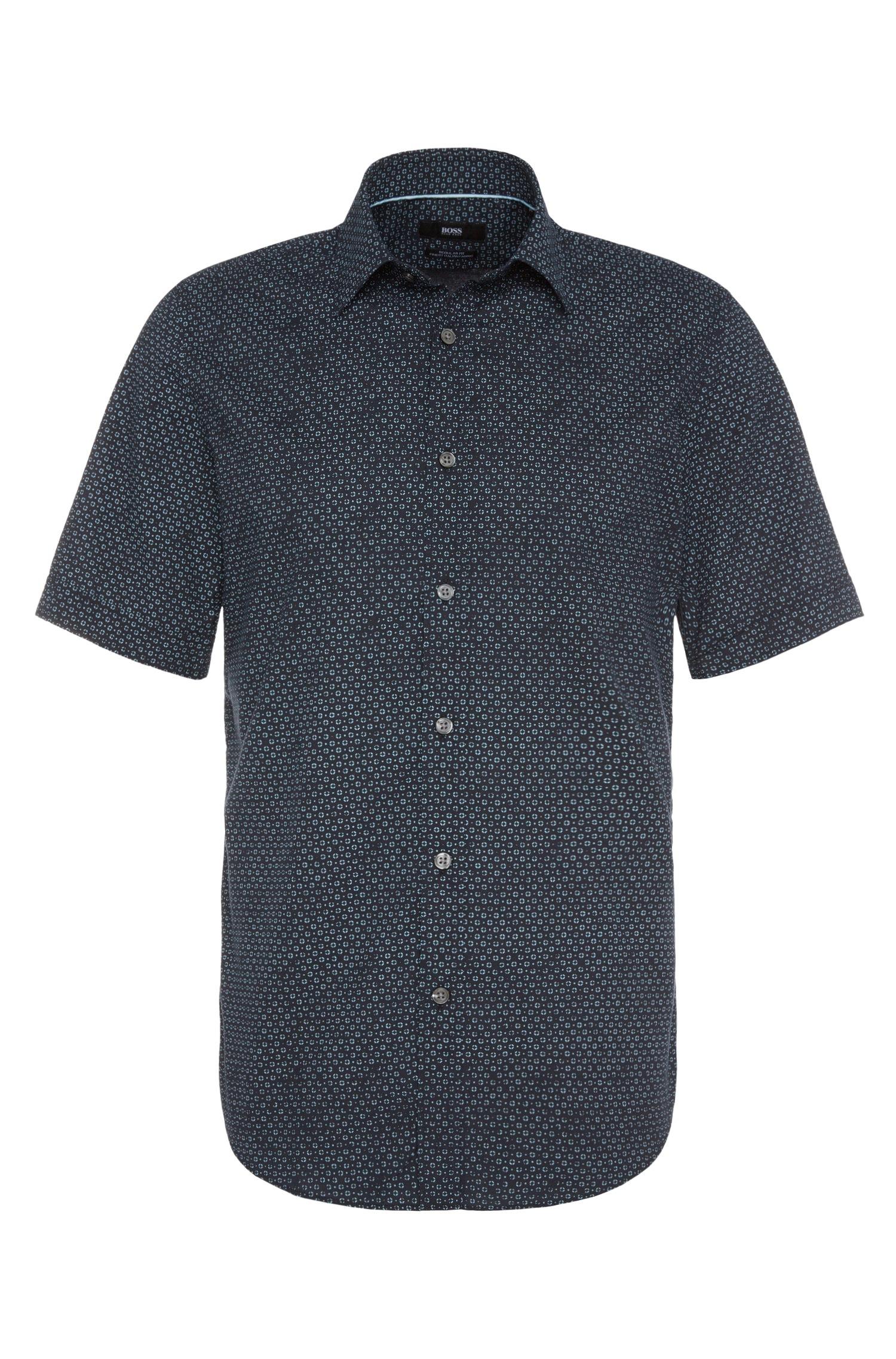 Lyst Boss 39 Luka 39 Regular Fit Cotton Button Down Shirt