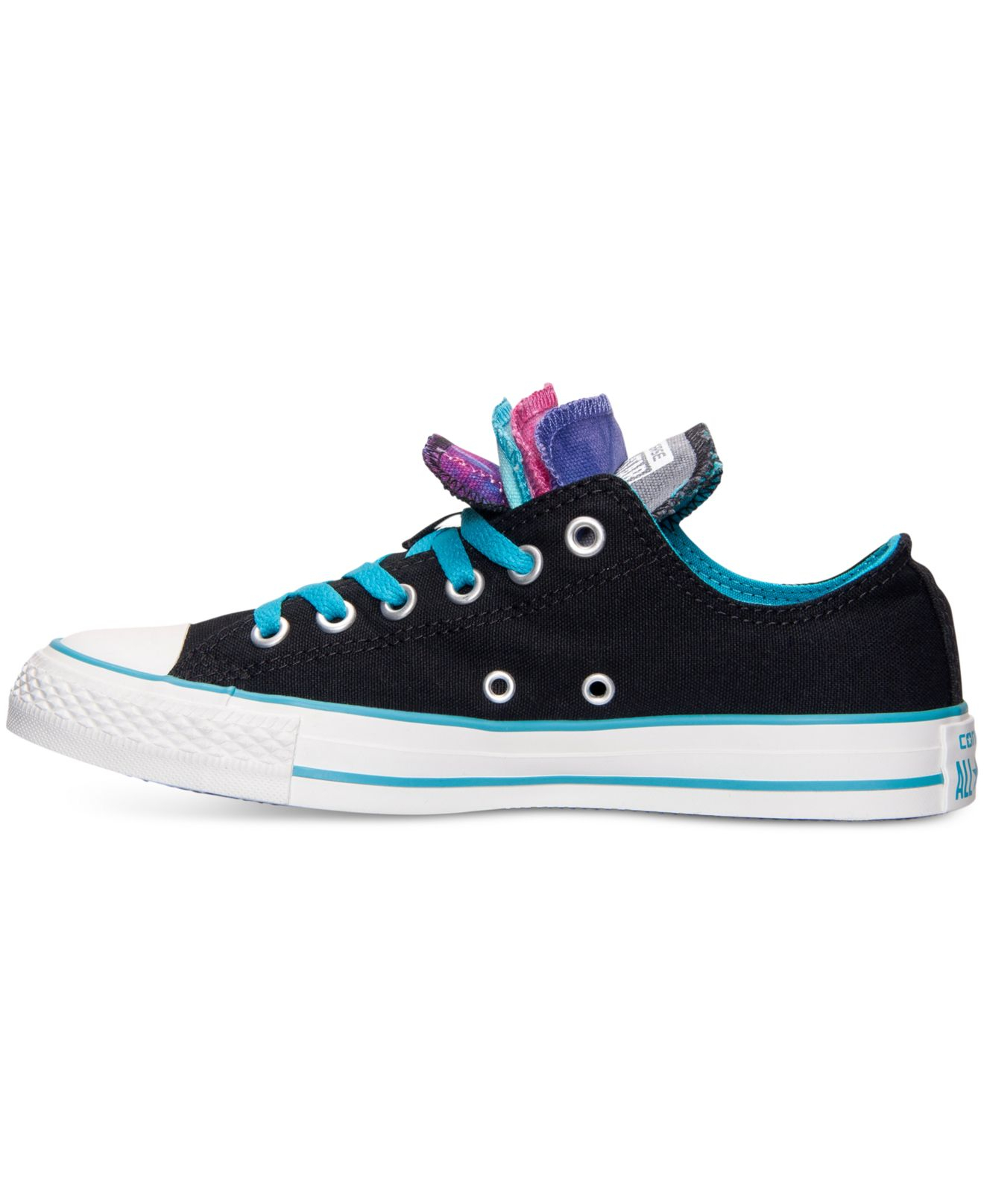 b2218a88c305 Lyst - Converse Women S Chuck Taylor Ox Multi Tongue Casual Sneakers ...