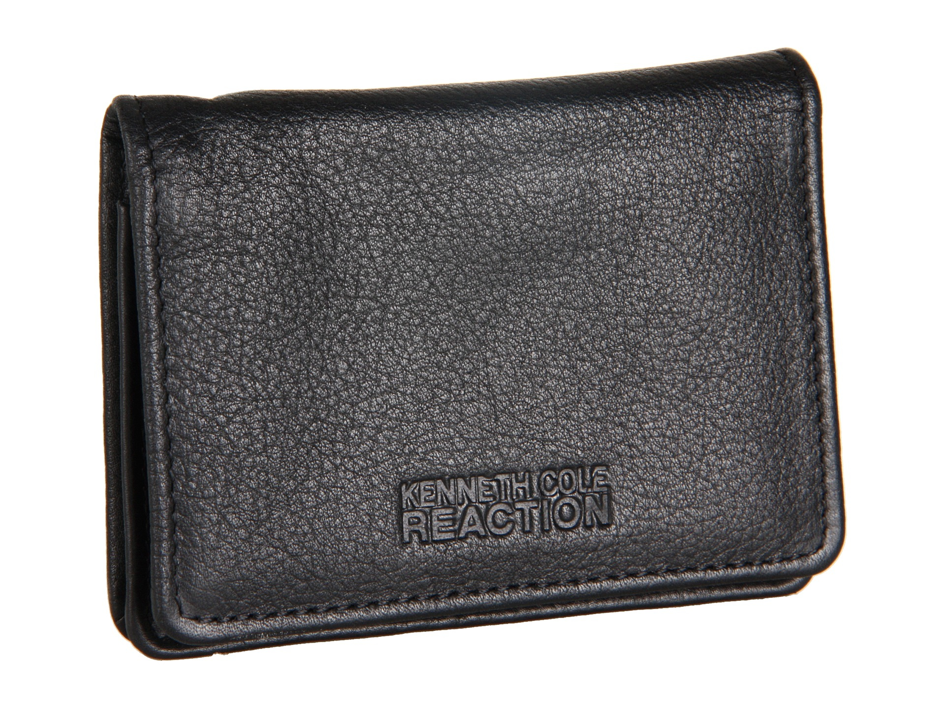 Kenneth cole reaction Wall Street Business Card Case in Black for ...