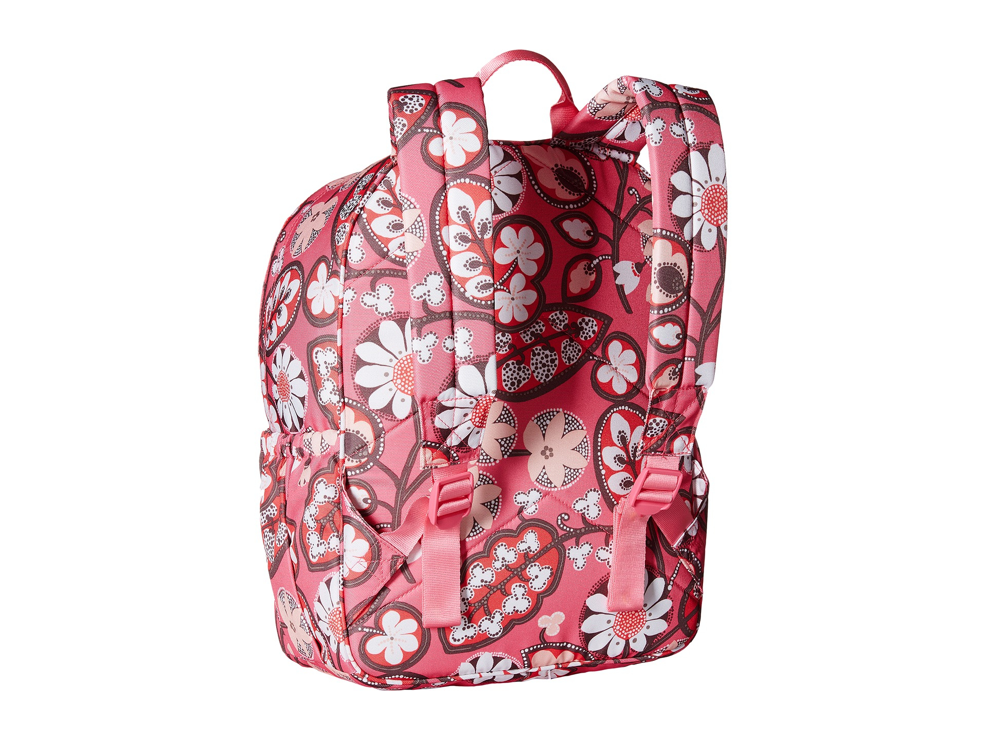 46cd970c45 Lyst - Vera Bradley Lighten Up Just Right Backpack in Pink