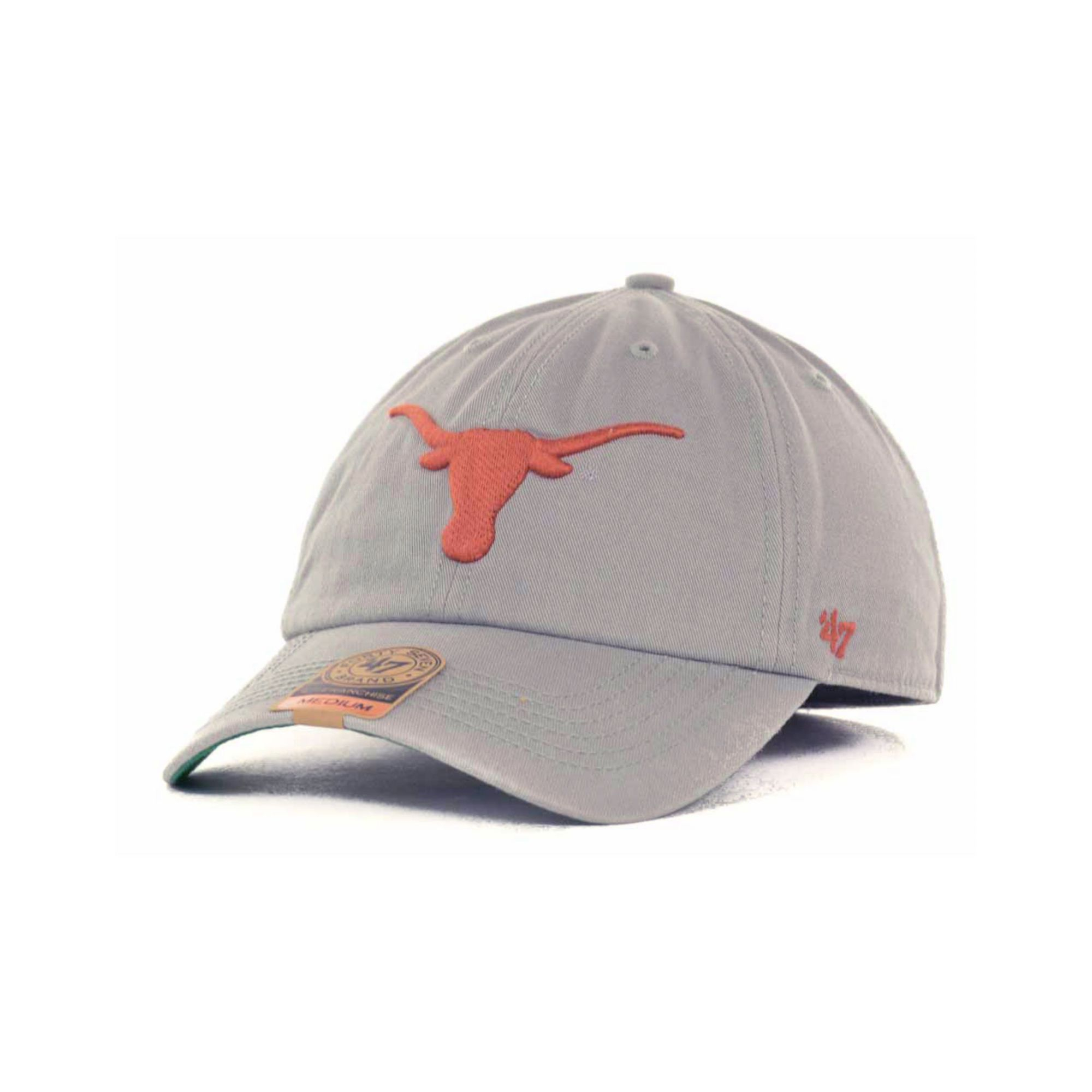 72beebcce7c5e 47 Brand Texas Longhorns Ncaa 47 Grey Franchise Cap in Gray for Men - Lyst