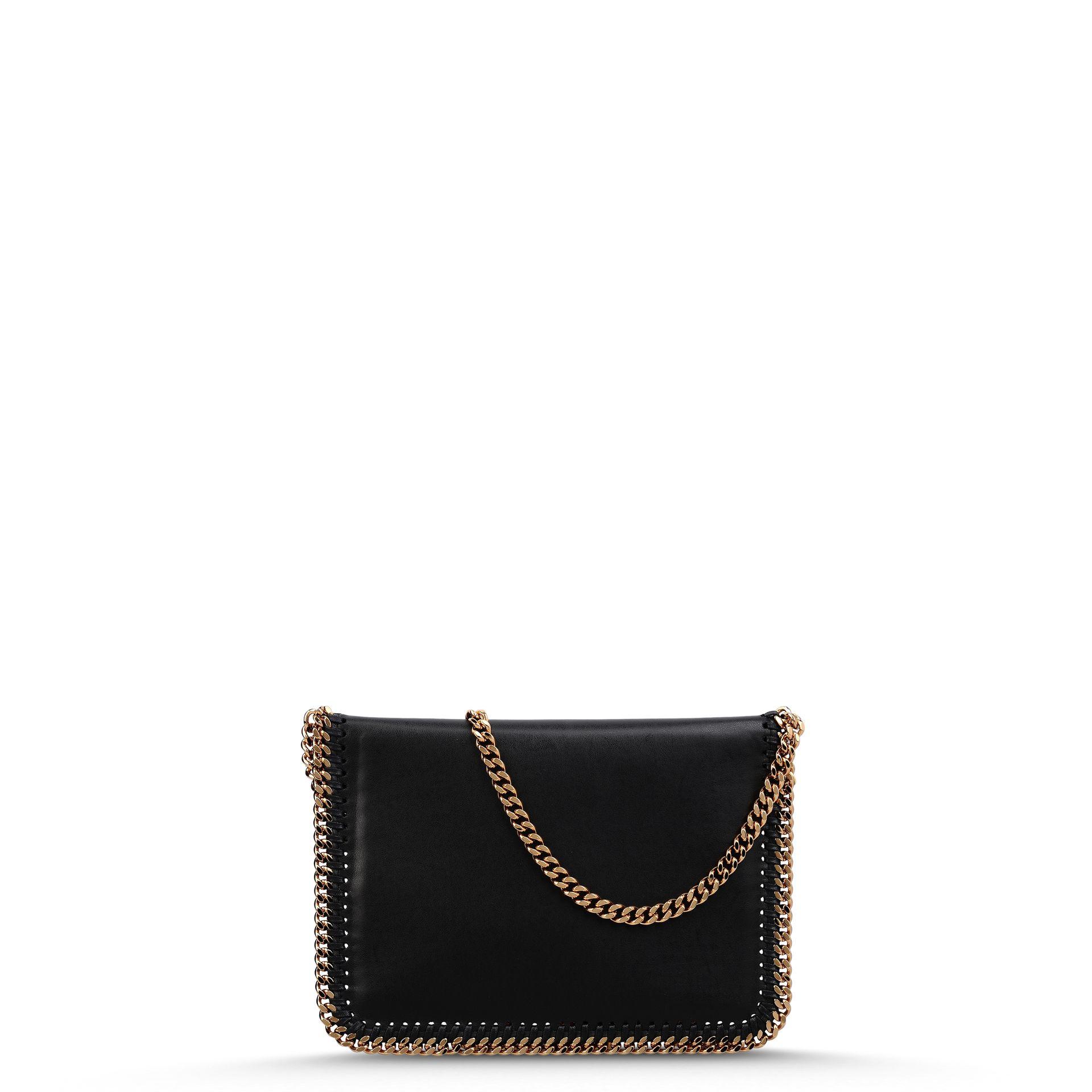 57e11ecf0e92 Lyst - Stella McCartney Falabella Eco Alter Mini Bag in Black