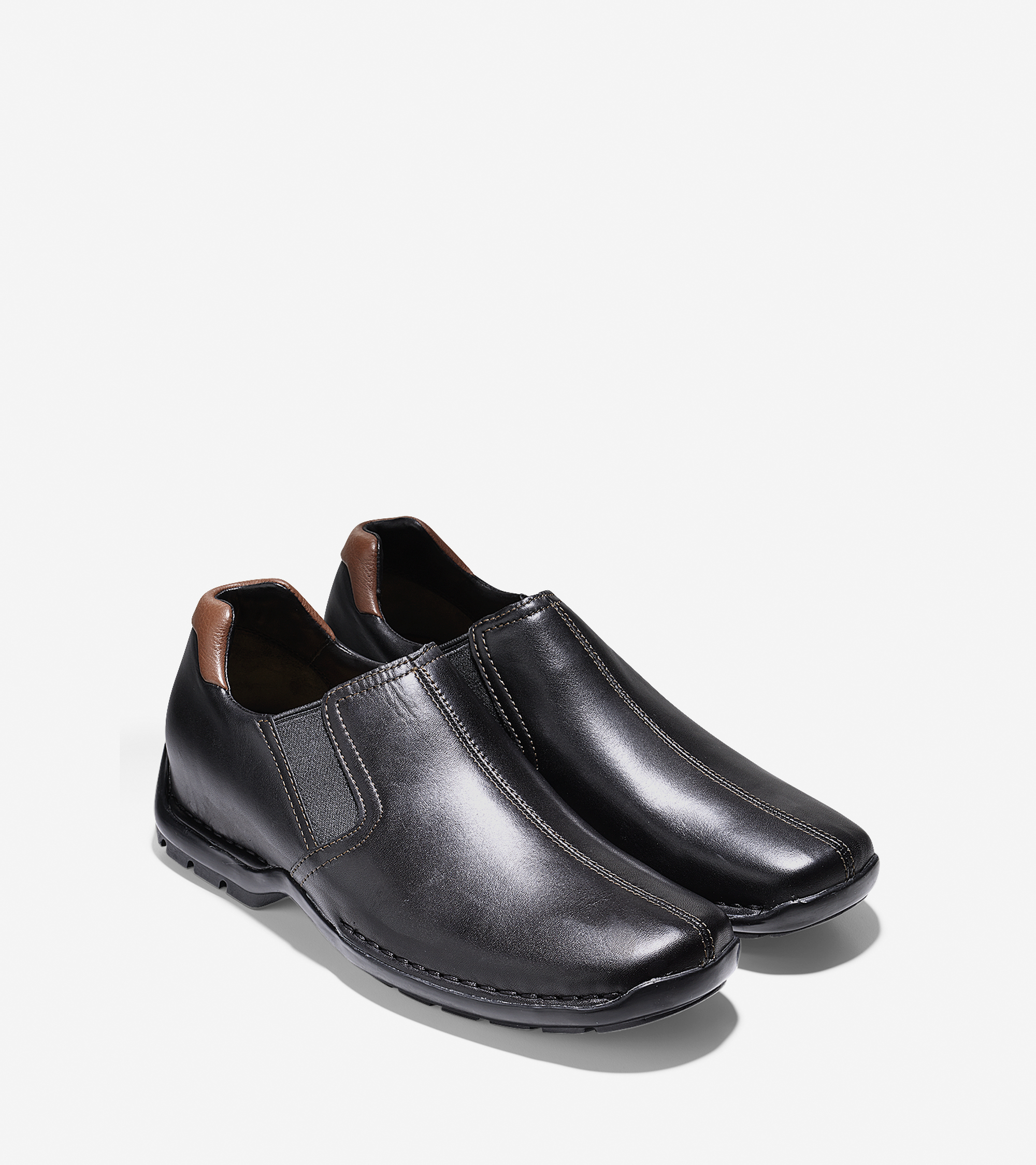 cole haan zeno slip on in black for lyst