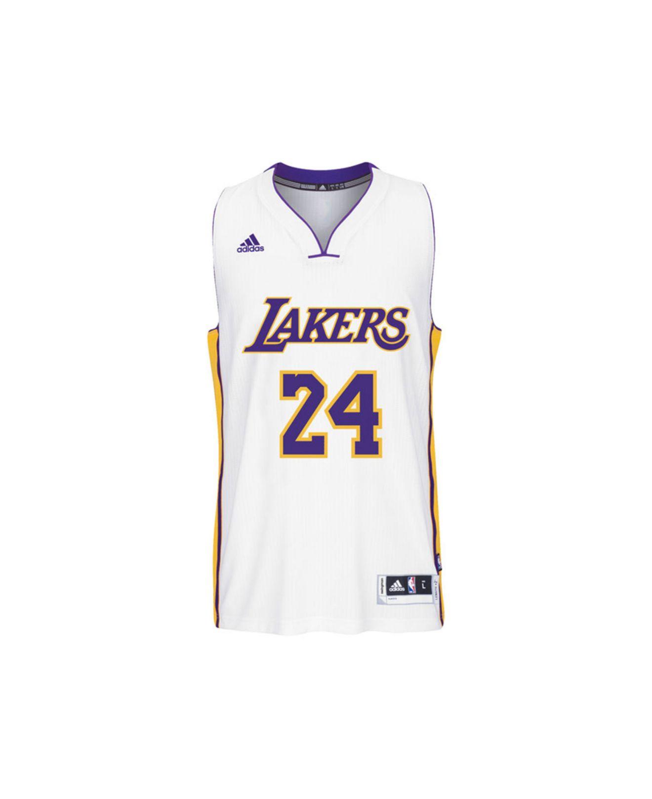 e930b260c Lyst - Adidas Kids  Kobe Bryant Los Angeles Lakers Swingman Jersey ...