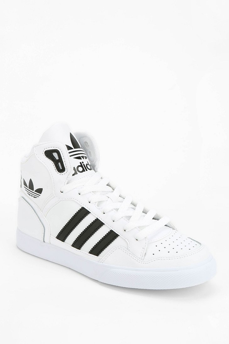 high top adidas superstar