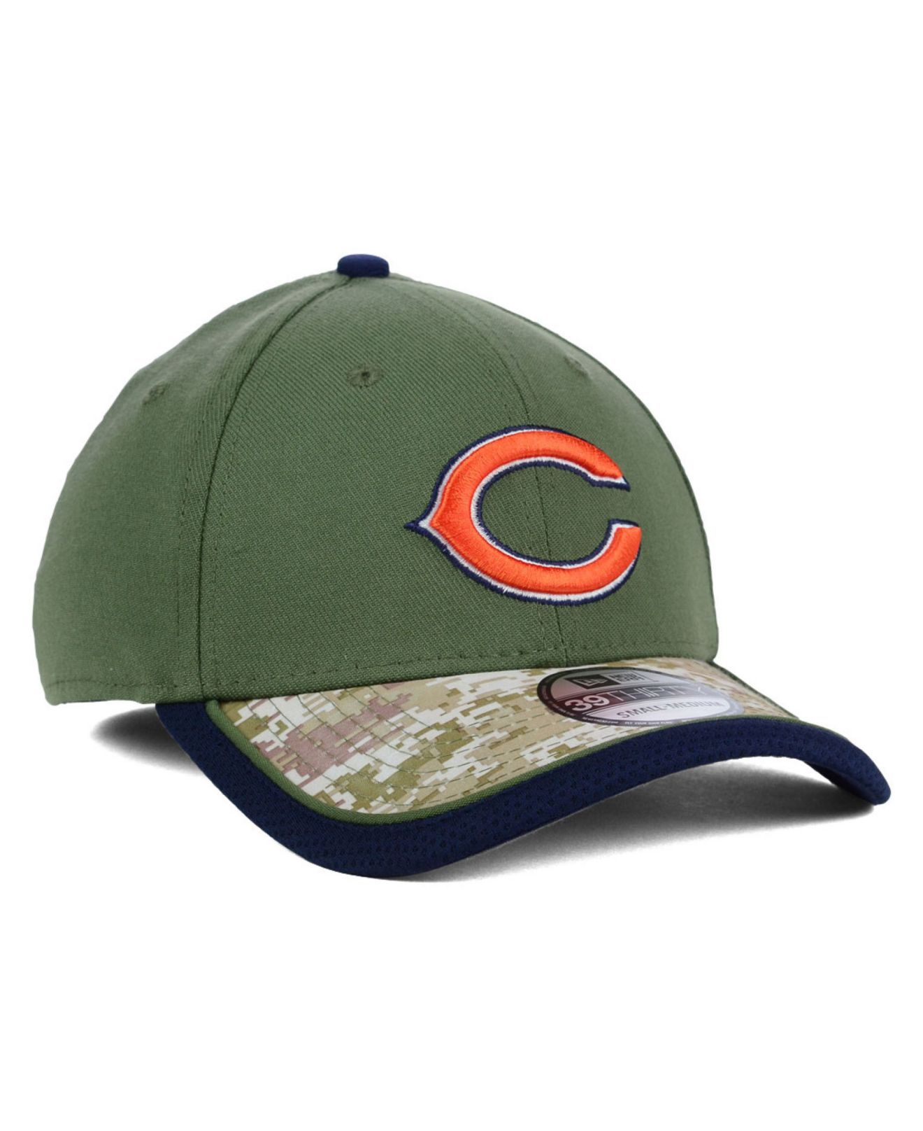 ... promo code for lyst ktz chicago bears salute to service 39thirty cap in  green for men 7624cdac4282