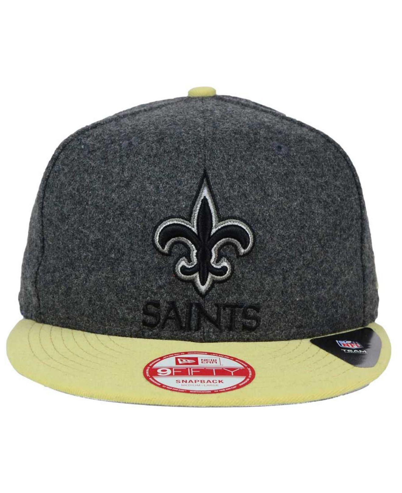 promo code 68ade 01ba1 Lyst - KTZ New Orleans Saints Shader Melt 9fifty Snapback Cap in ...
