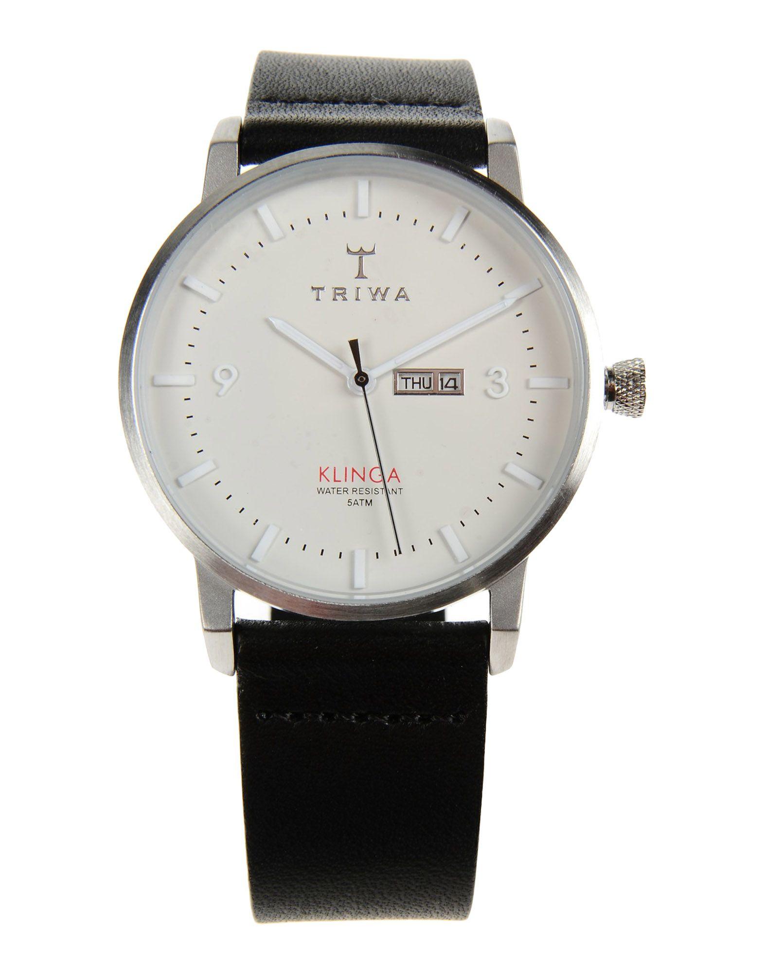 triwa wrist in white for lyst