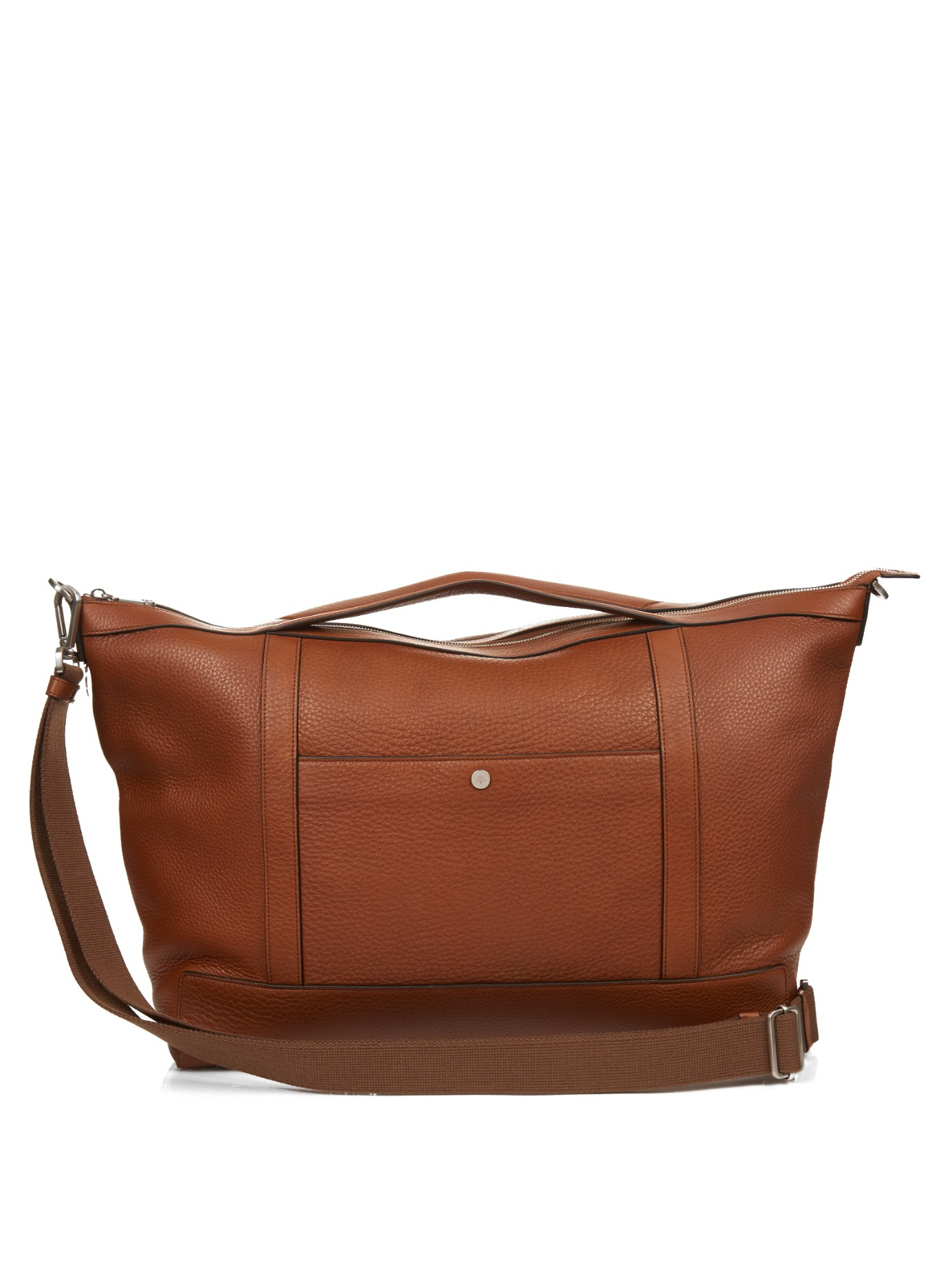59d6d0c752c6 ... france mulberry multi tasker grained leather holdall in brown for men  lyst b65df 097bc ...