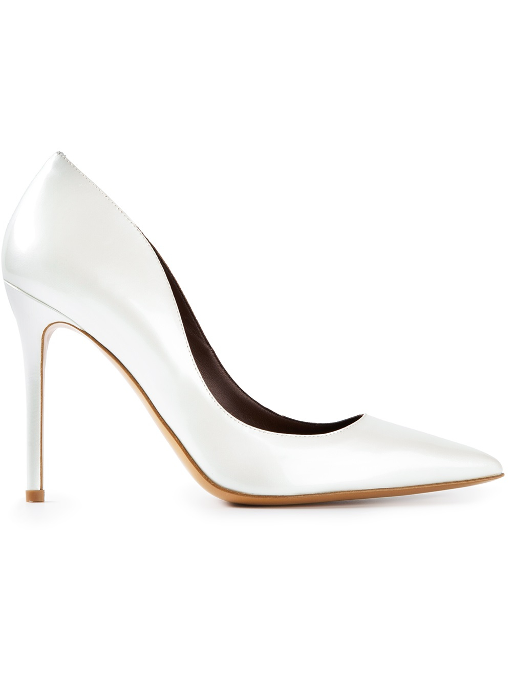 cheap sale from china free shipping wholesale price Bruno Magli Pointed-Toe Leather Pumps cheap sale new 0kksPpBf