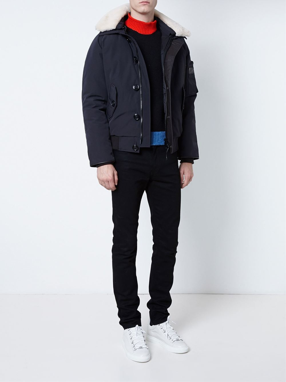 Canada Goose chilliwack parka outlet price - Canada goose Foxe Bomber in Blue for Men | Lyst